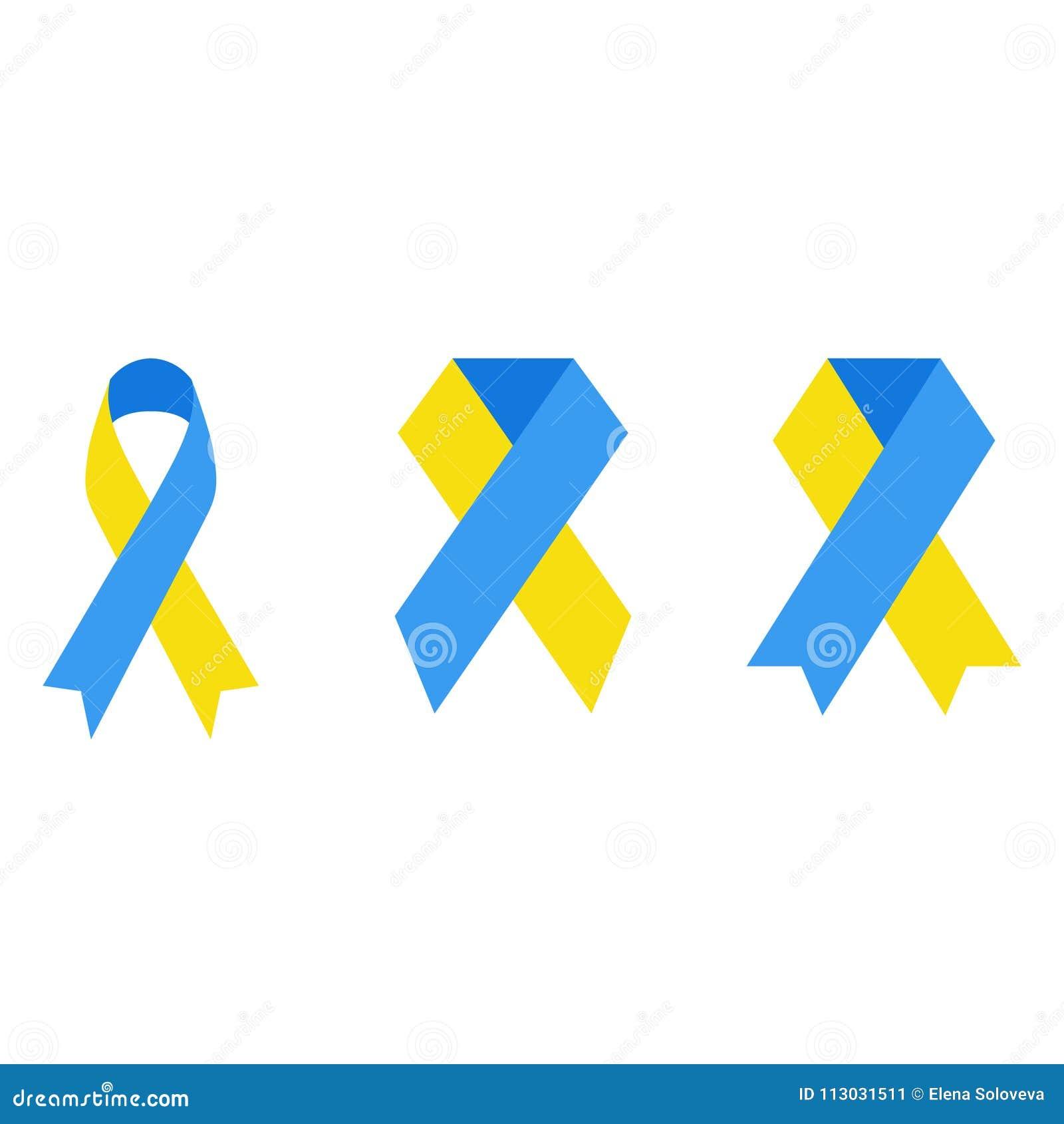 Emblema de un Síndrome de Down contra un fondo blanco