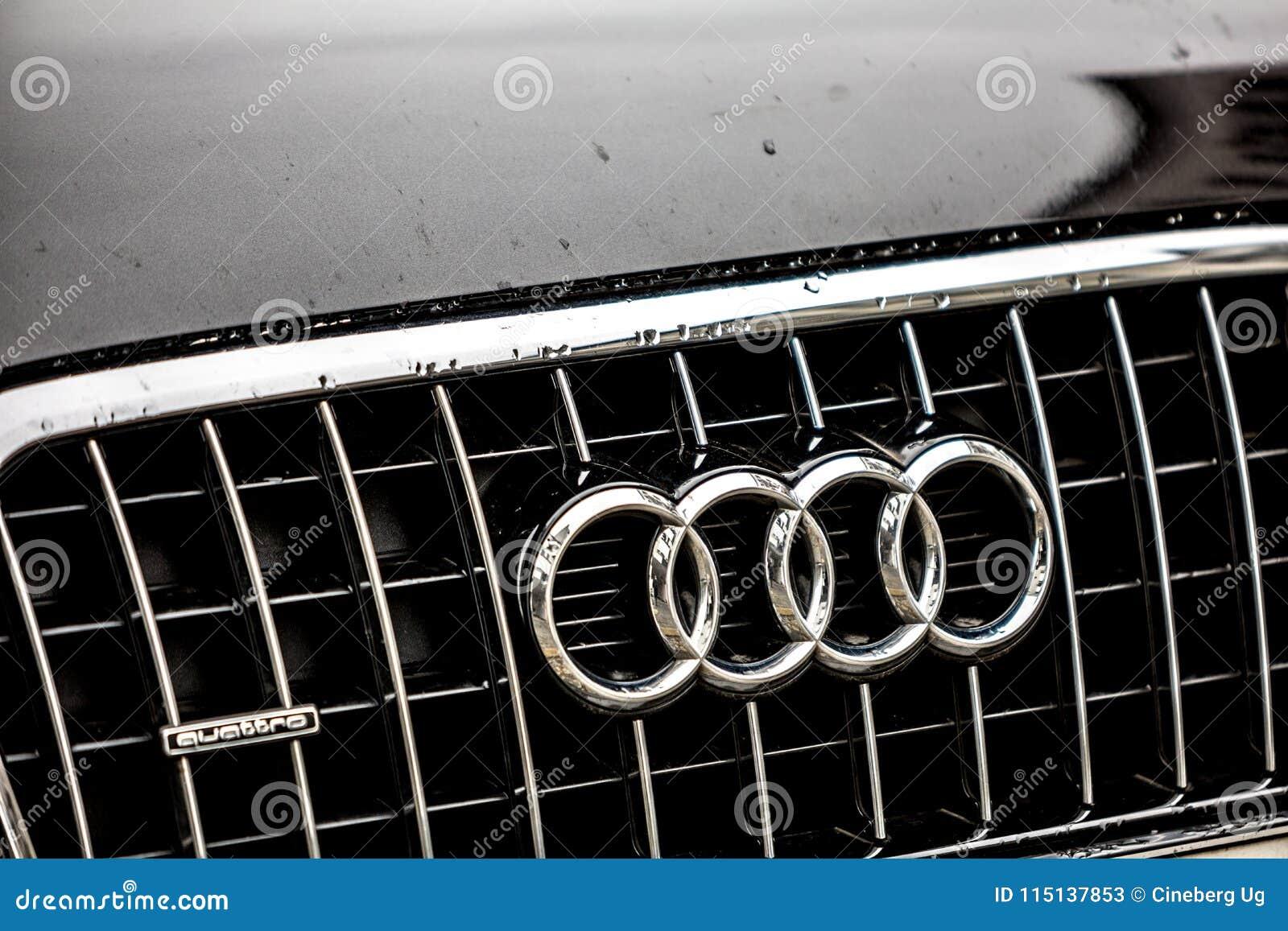 Emblema del coche de Audi