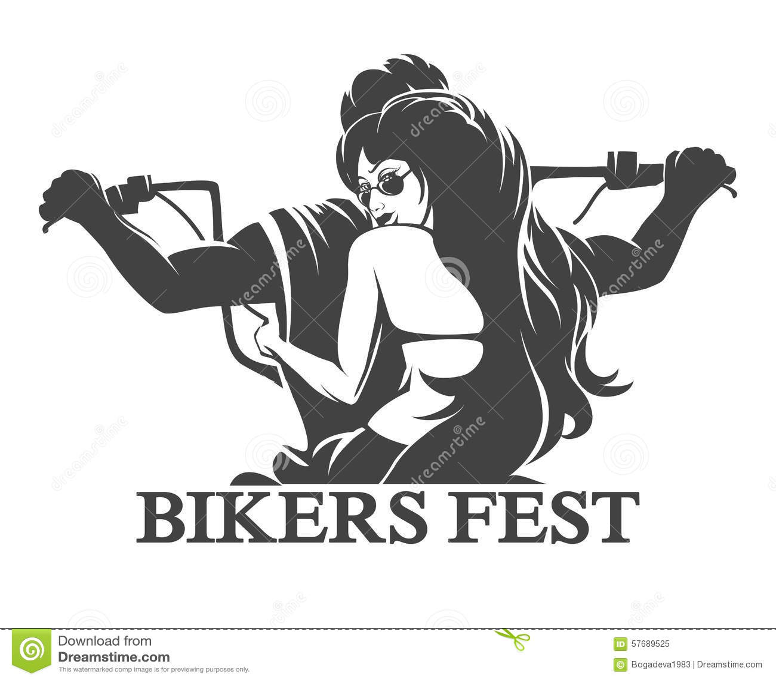 Emblema del Fest dei motociclisti
