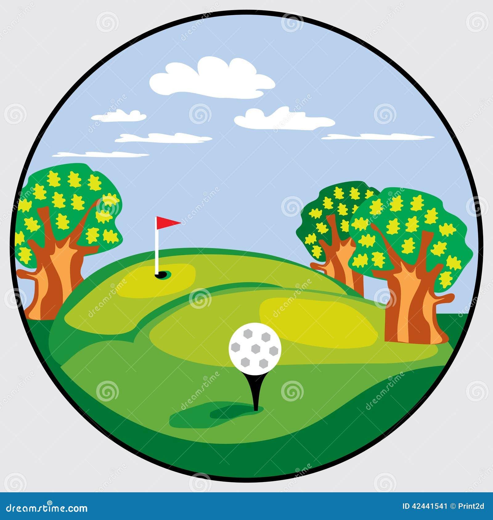 Emblema del golf