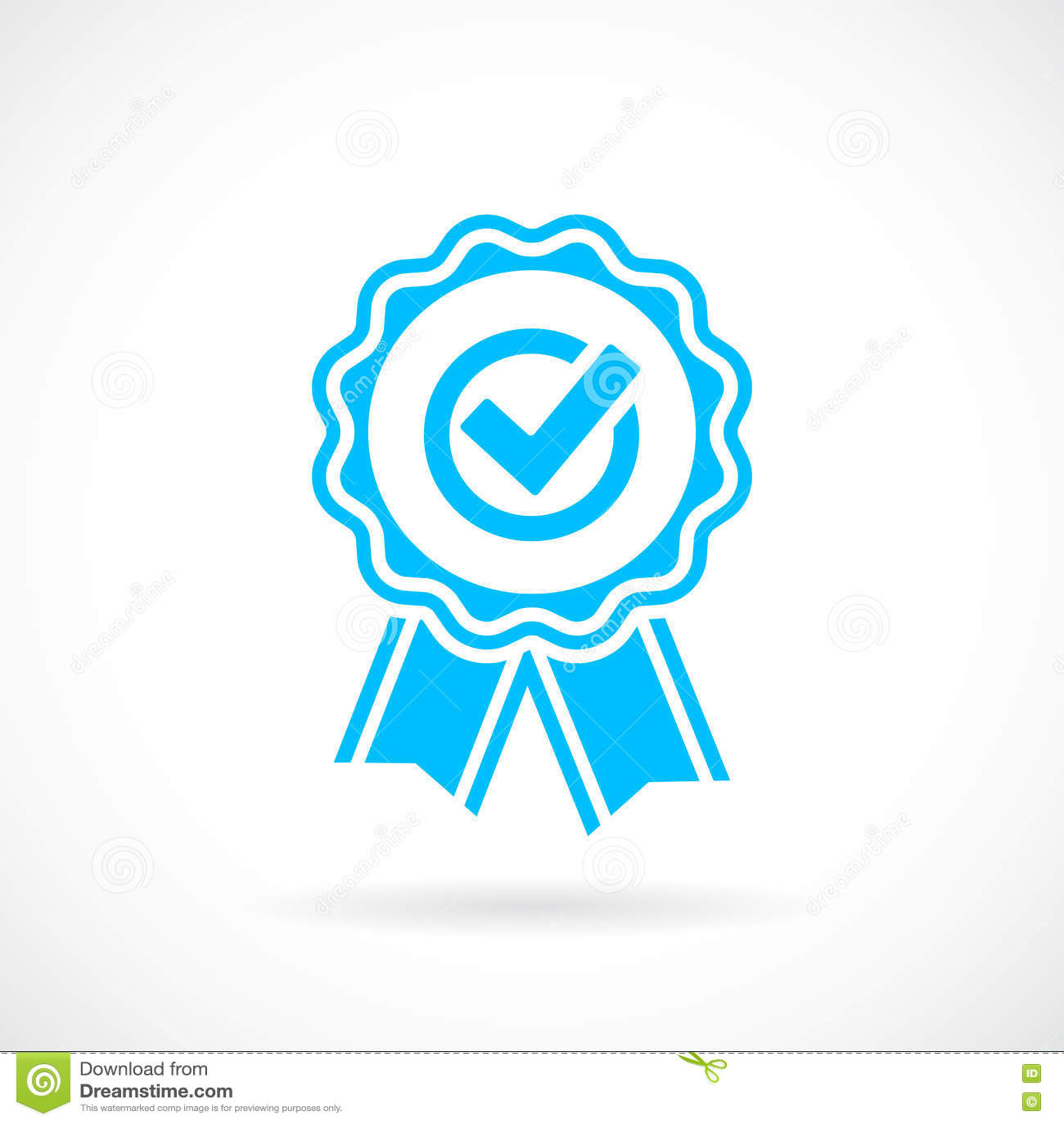 Emblema del vector del premio del honor