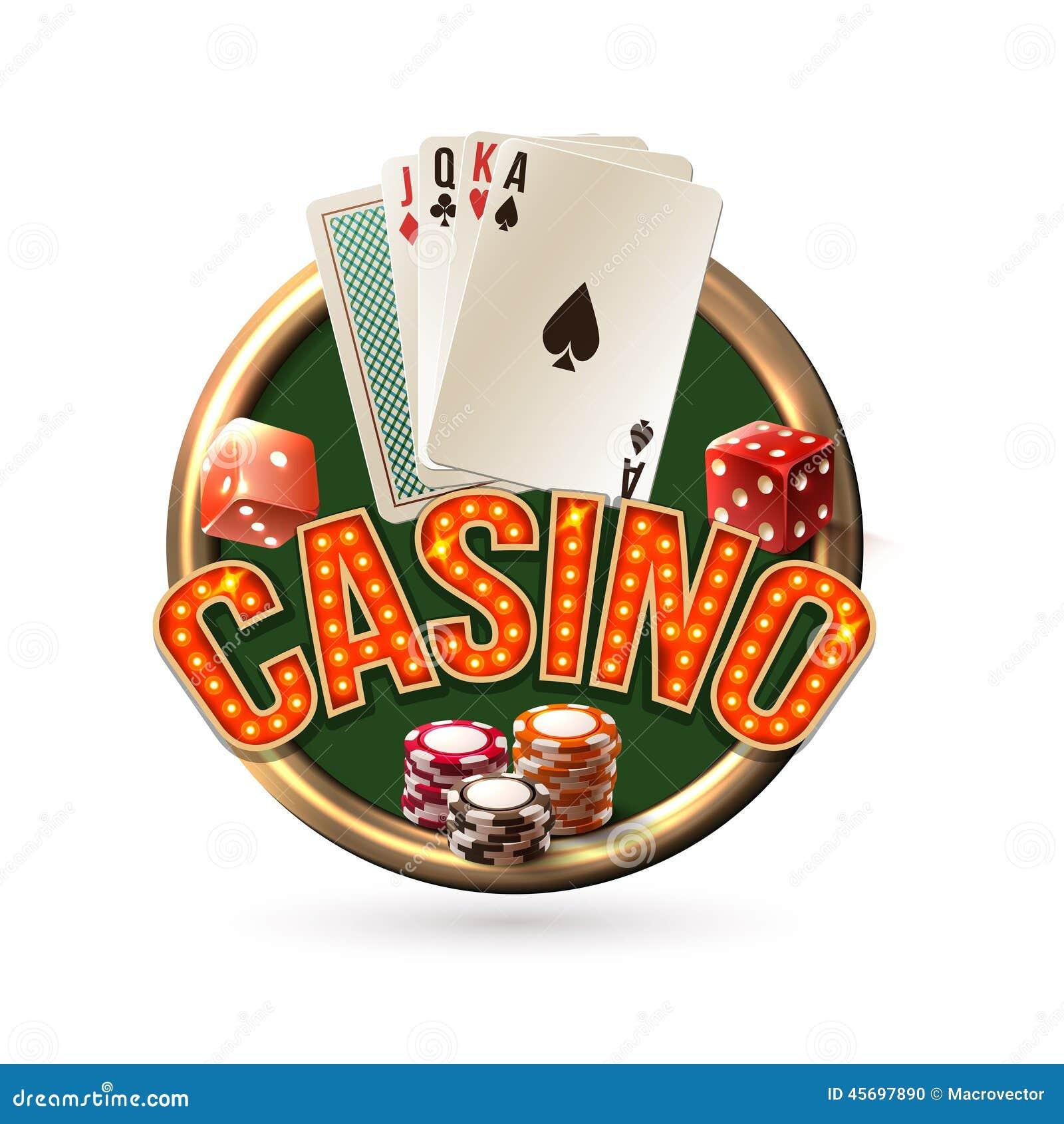 Emblema do casino de Pocker