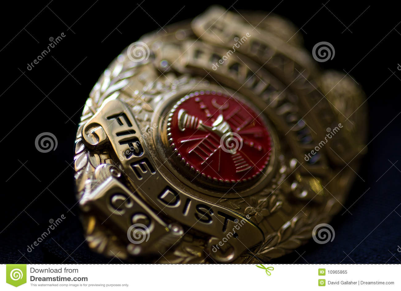 Emblema do departamento dos bombeiros