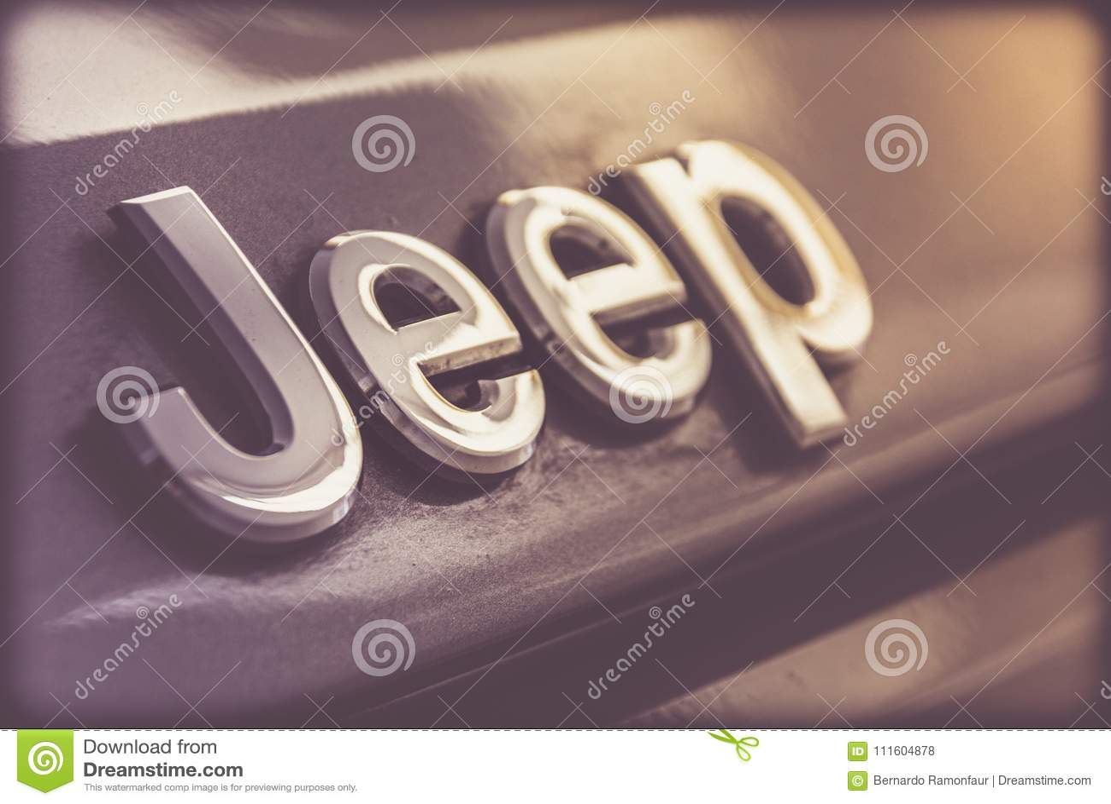 Emblema do metal do jipe