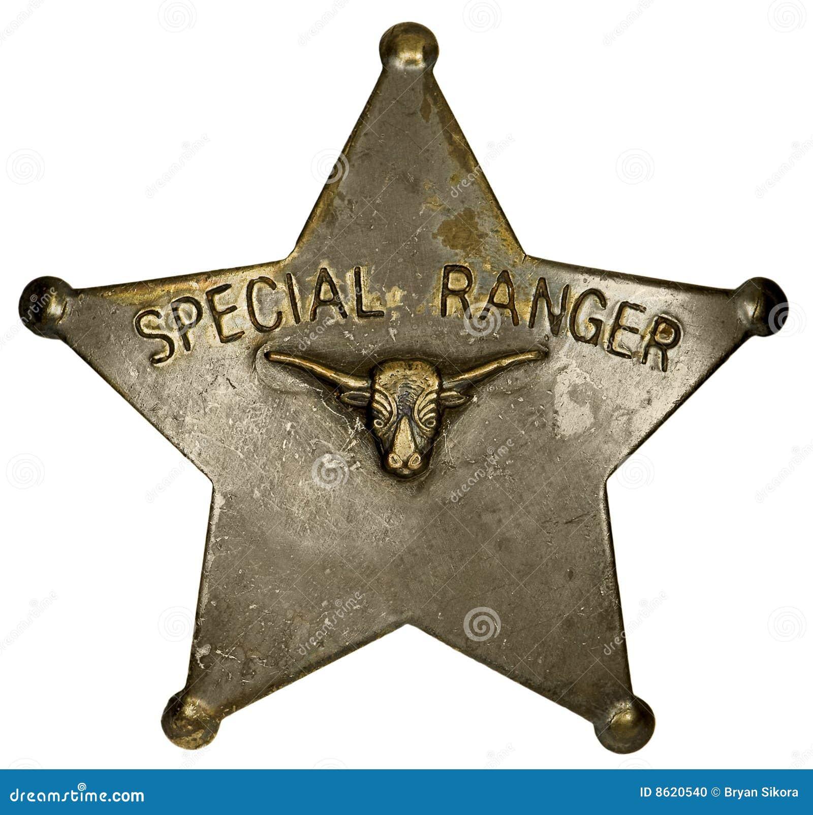 Emblema especial da guarda florestal