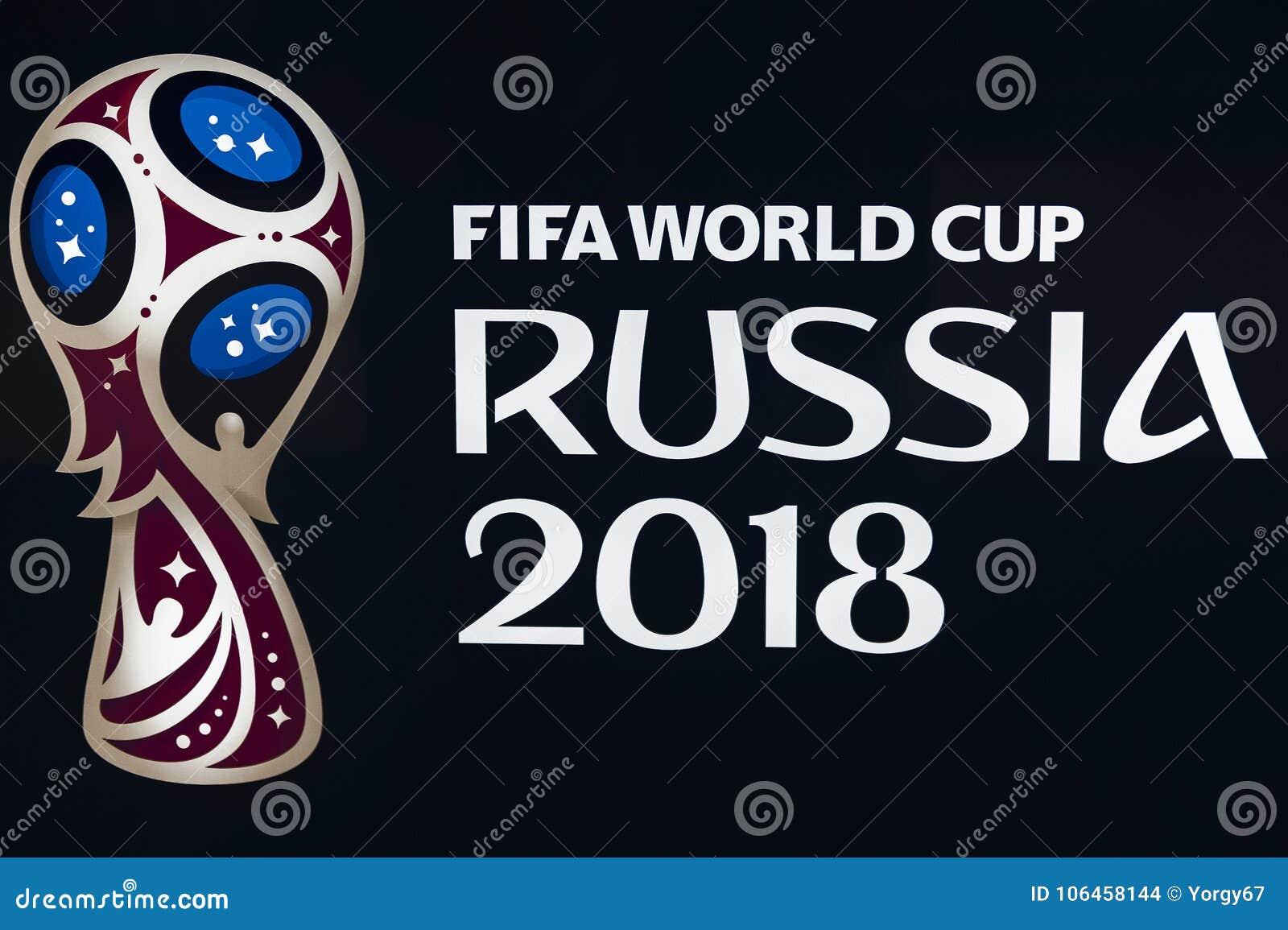 Emblema oficial de WC 2018