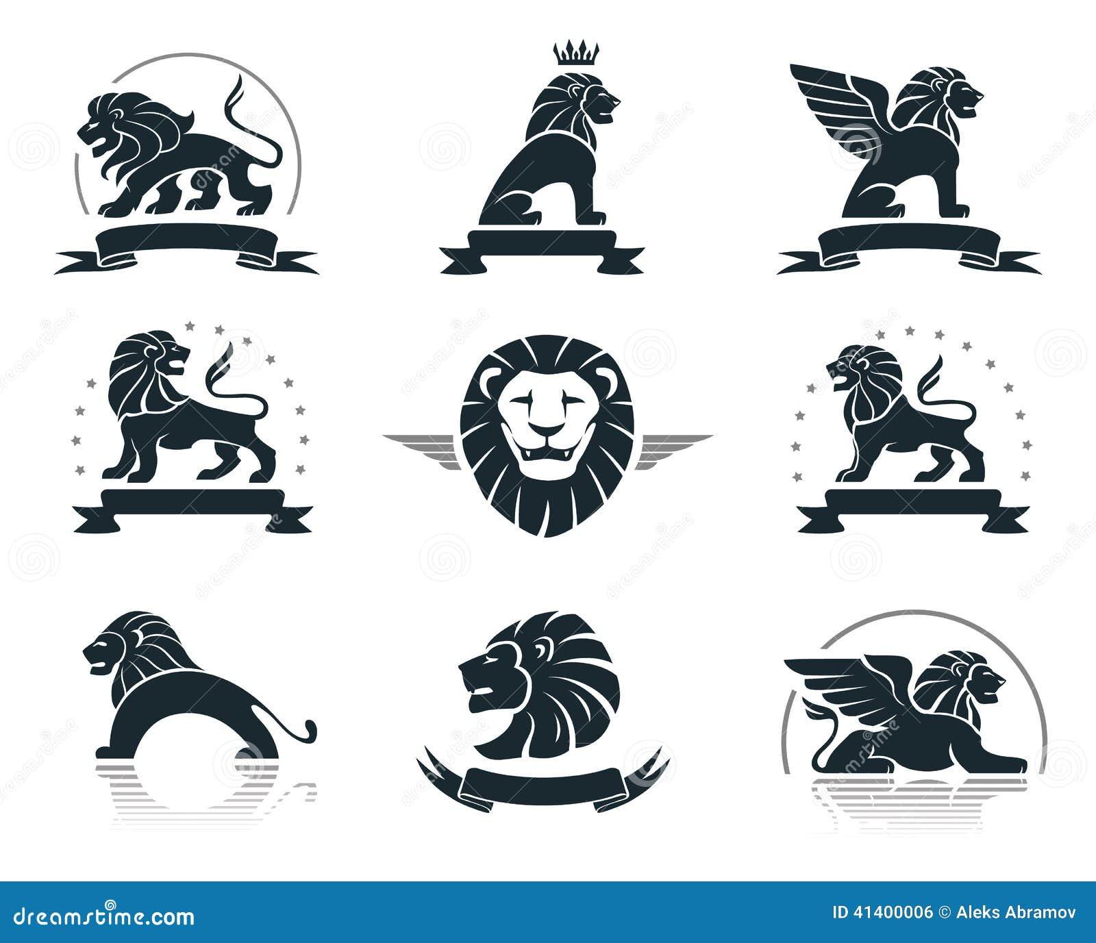 Leones Ilustraciones Stock, Vectores, Y Clipart – (2,269 ...