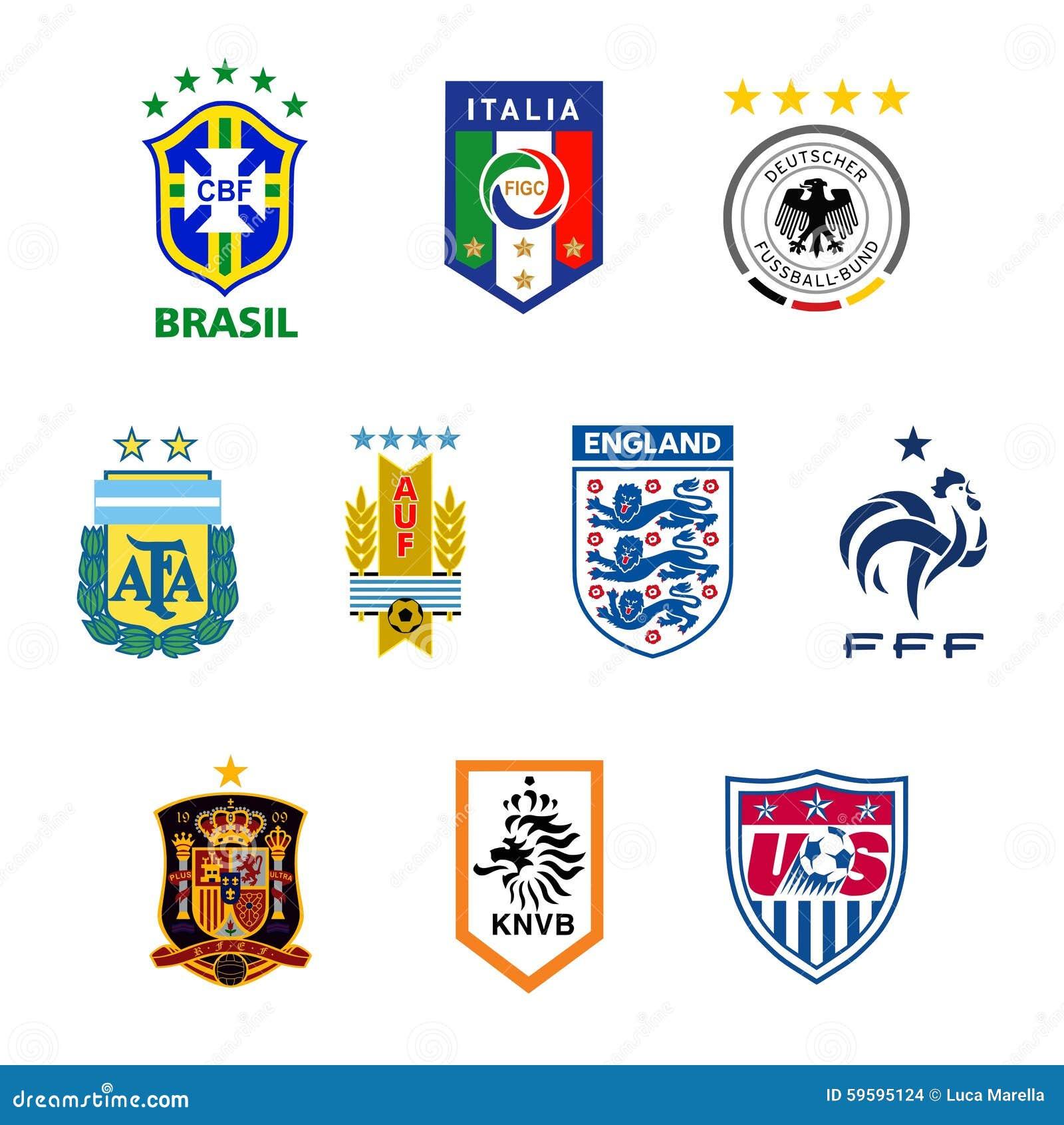 Emblemas nacionais da equipa de futebol