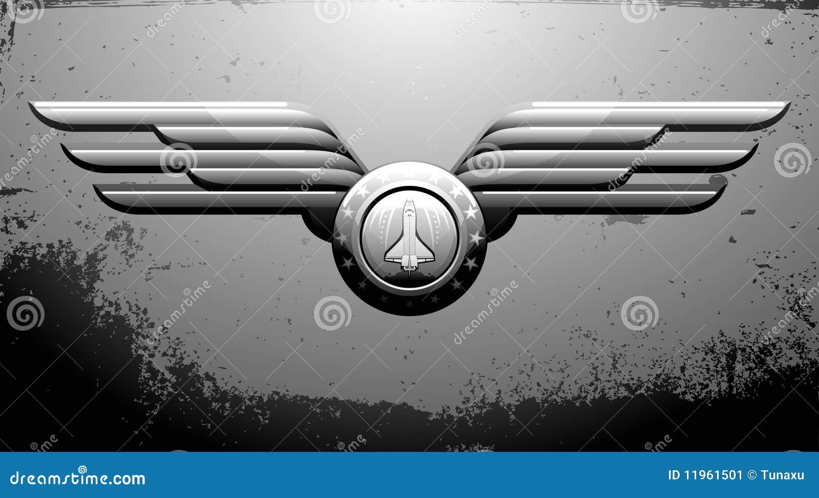 Emblemata wahadłowiec