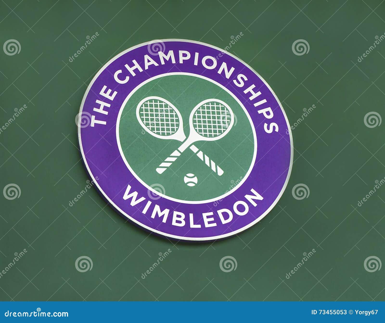 Emblemet av Wimbledon turnering