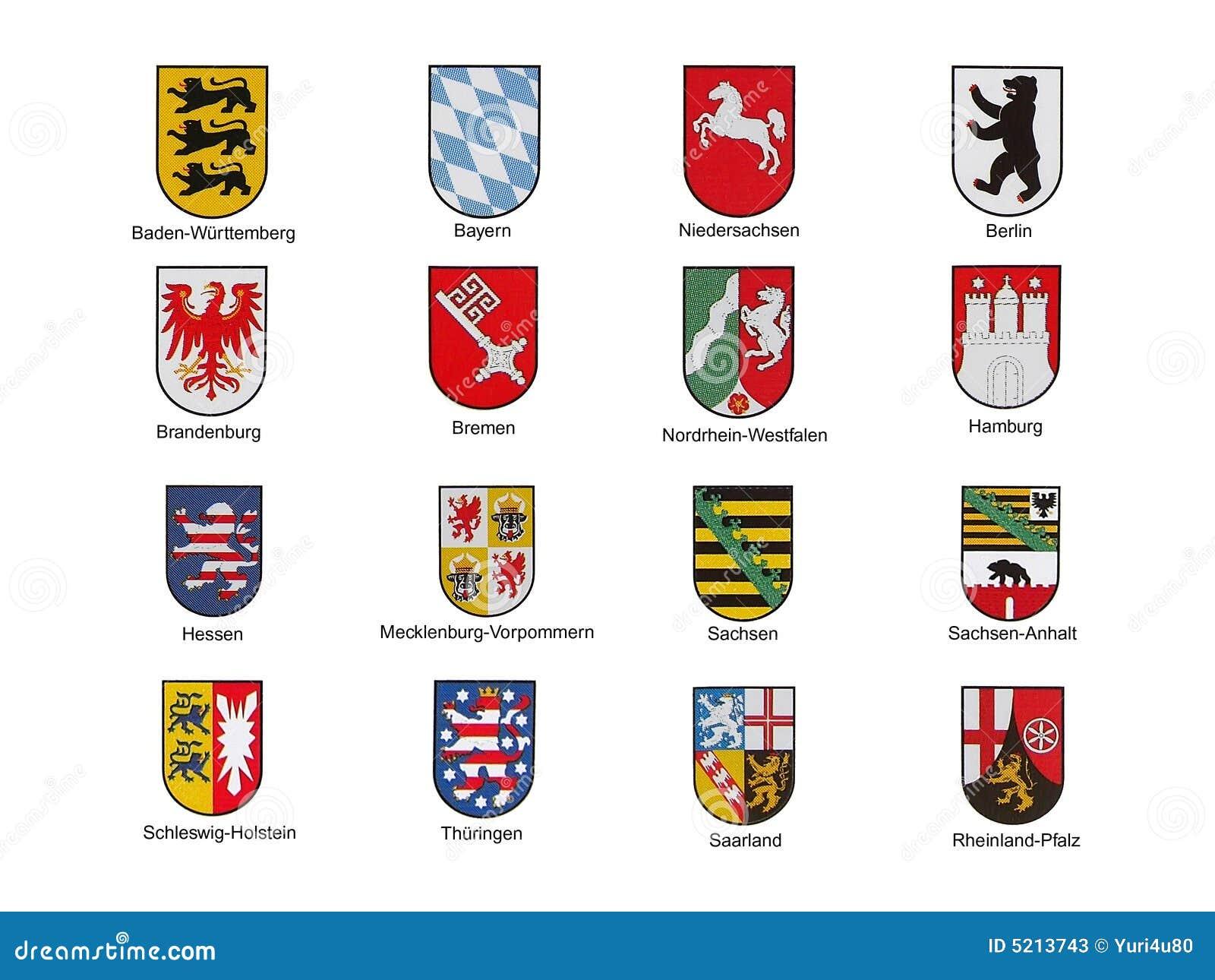 Bundesländer Kürzel