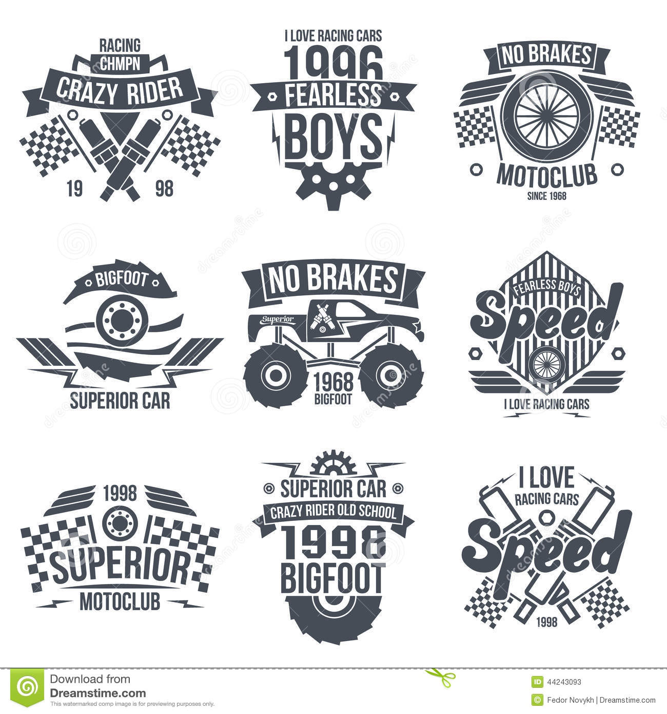 ... cars. Graphic design for t-shirt. Dark print on white background