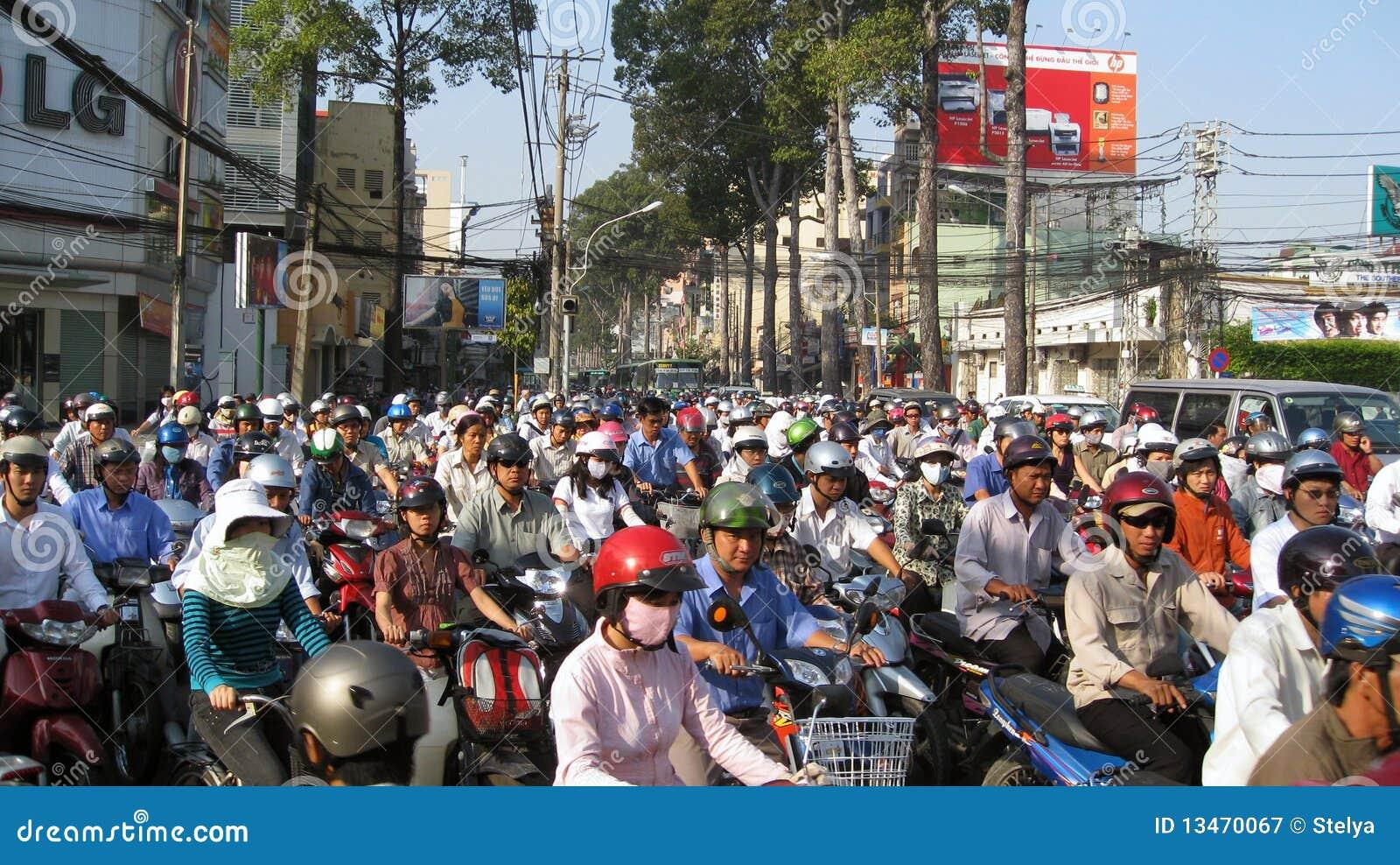 Embouteillage ho chi minh ville vietnam photographie - Piscine ho chi minh ville ...