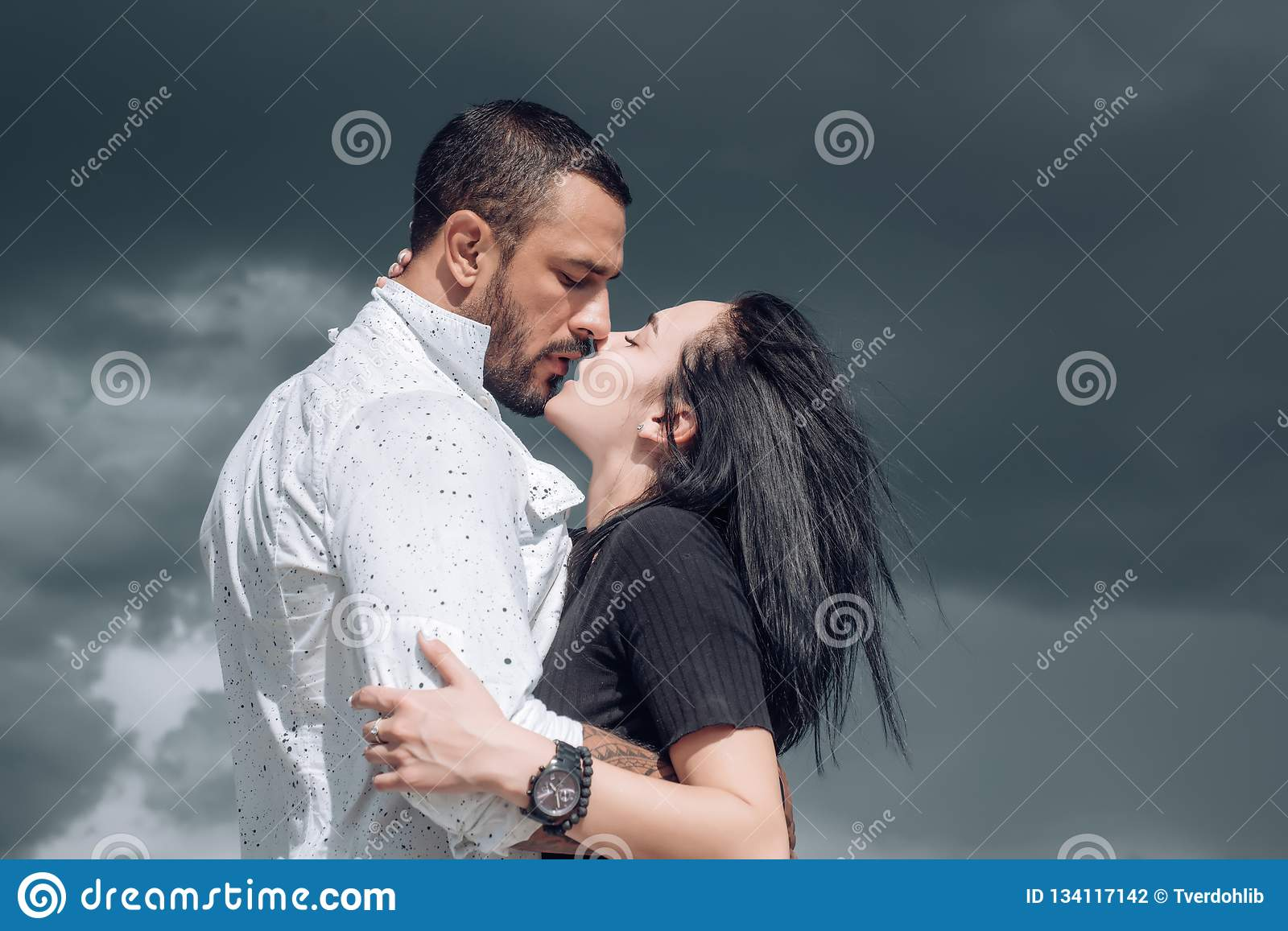French Kiss Couple Images embrace and kiss. couple in french kiss. in love and i love you
