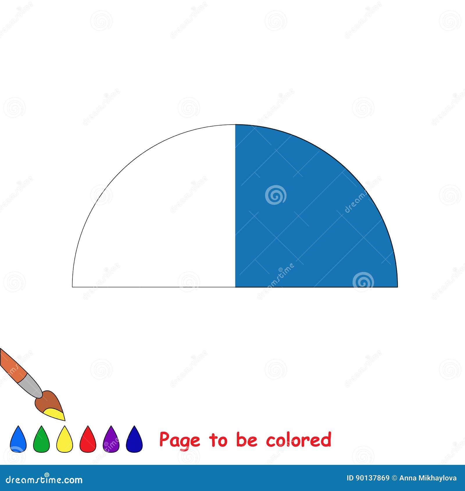 Embrome El Juego Que Se Coloreará Por Ejemplo Medio Ilustración Del