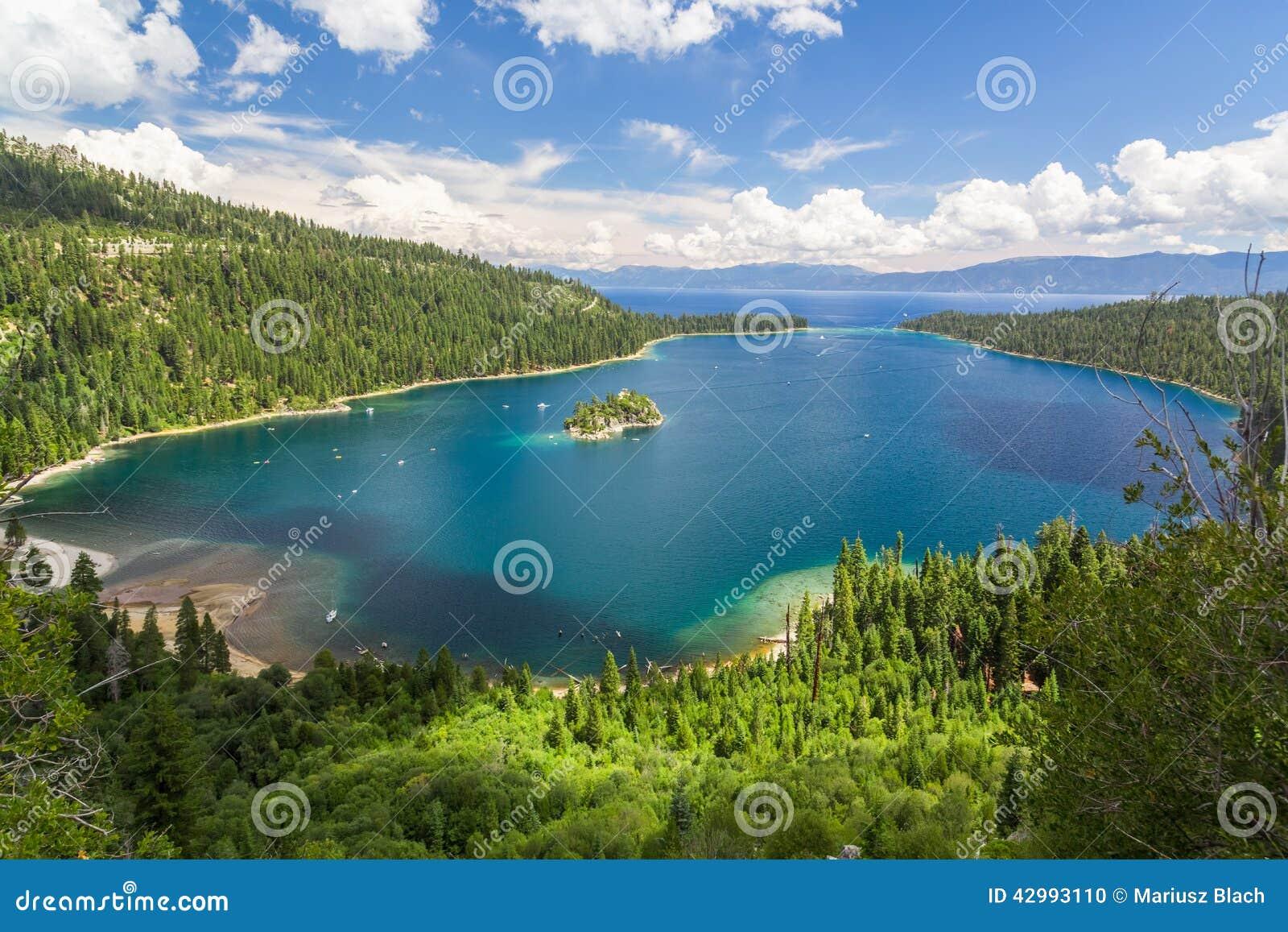 Emerald Bay Lake Tahoe Stock Photo Image Of Cruising