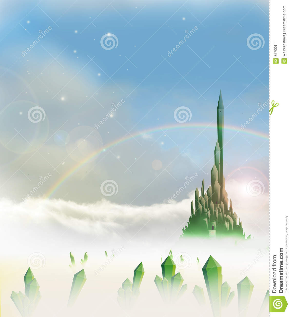 Dorothy cartoons illustrations vector stock images 37 for Emerald city nickname