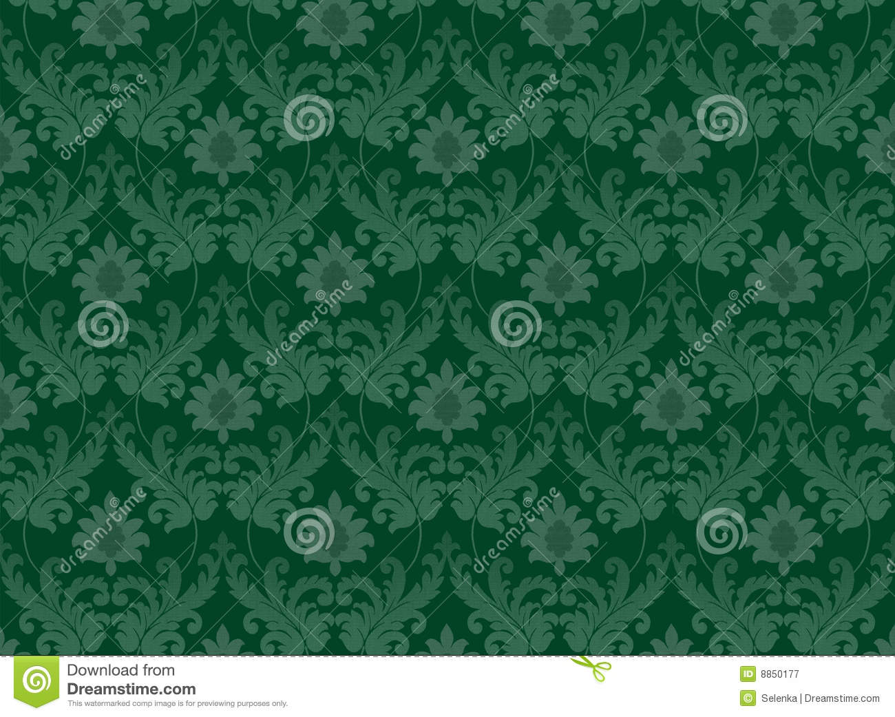 emerald green renaissance background royalty free stock