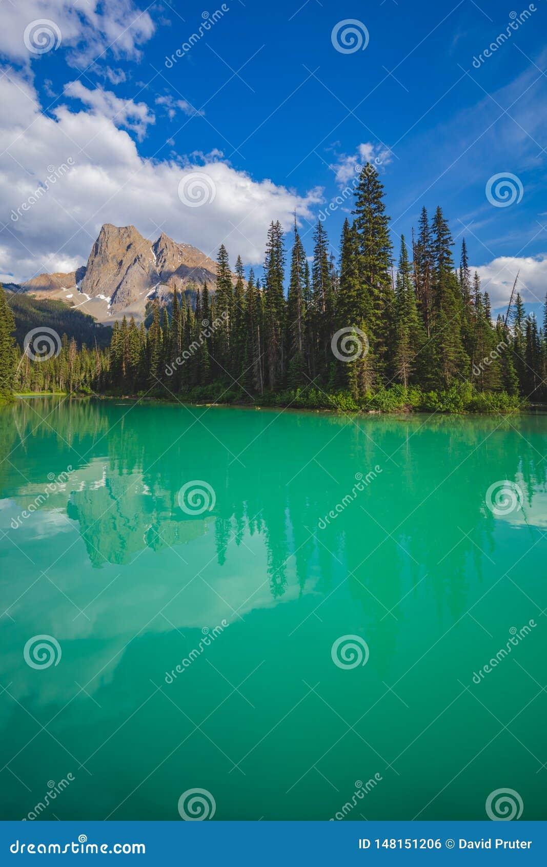 Emerald Lake en Yoho National Park, Canada