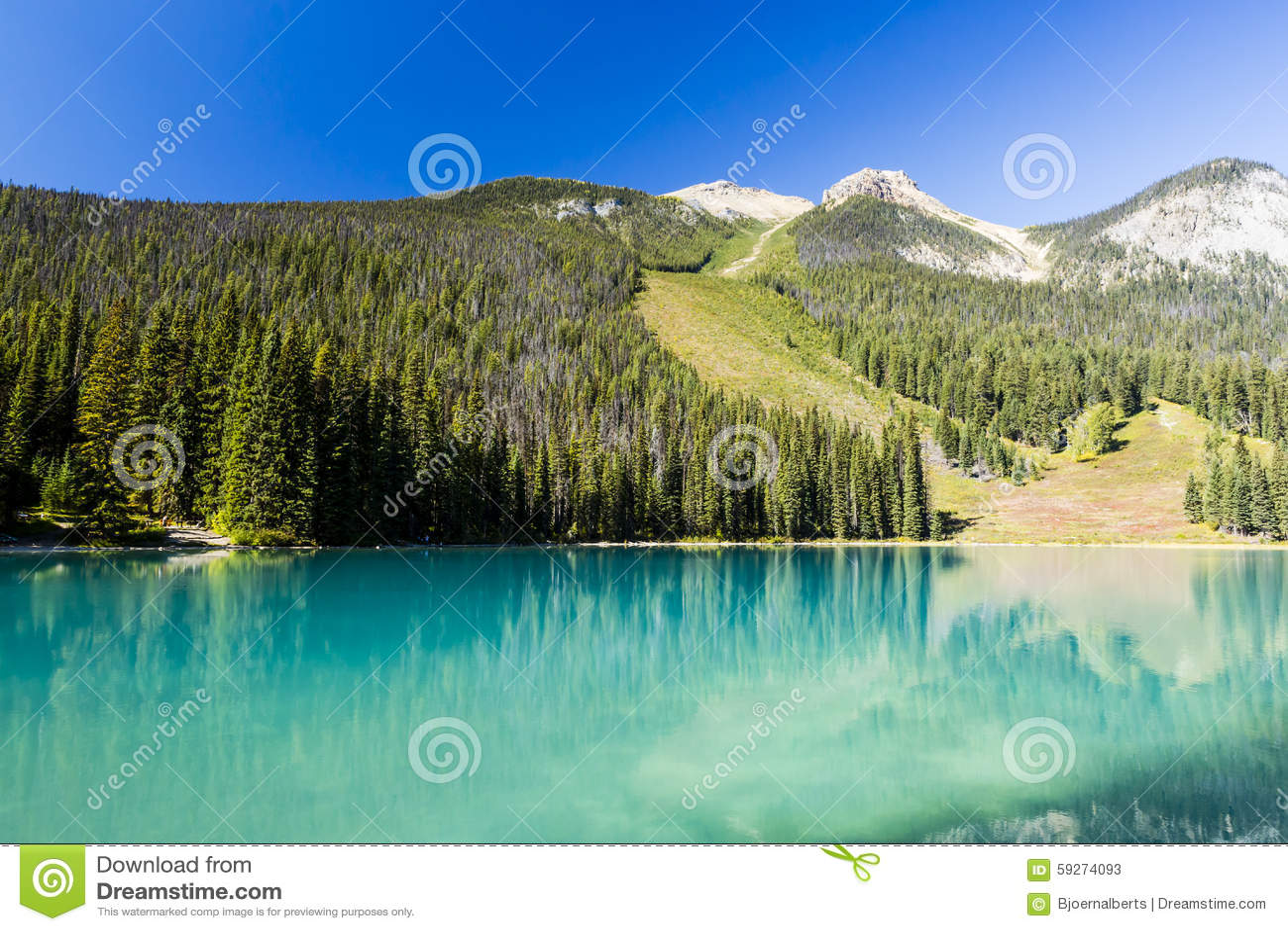 Emerald Lake, Yoho National Park, Colombie-Britannique, Canada