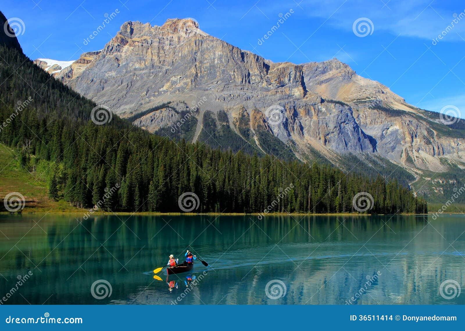 Emerald Lake, Yoho National Park, Columbia Britânica, Canadá