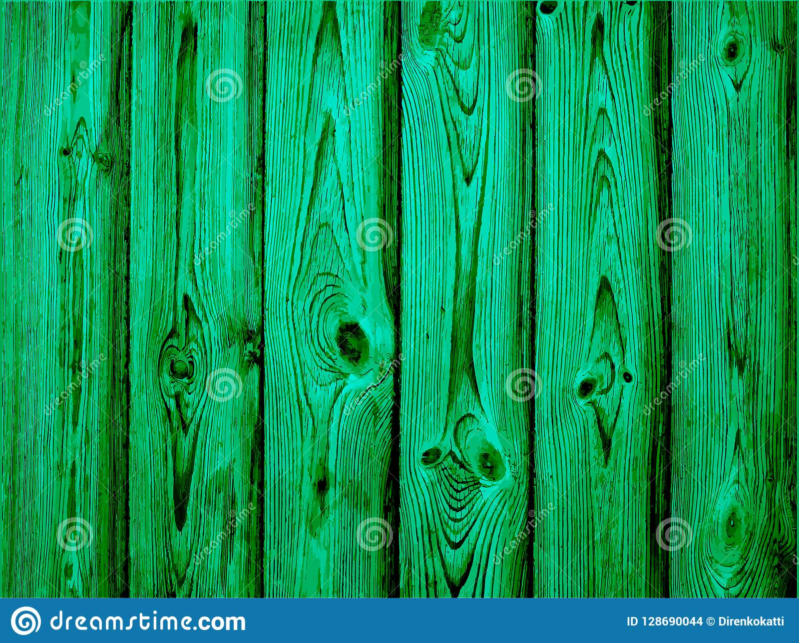Emerald Old Wood Background Pattern For Wedding Invitation
