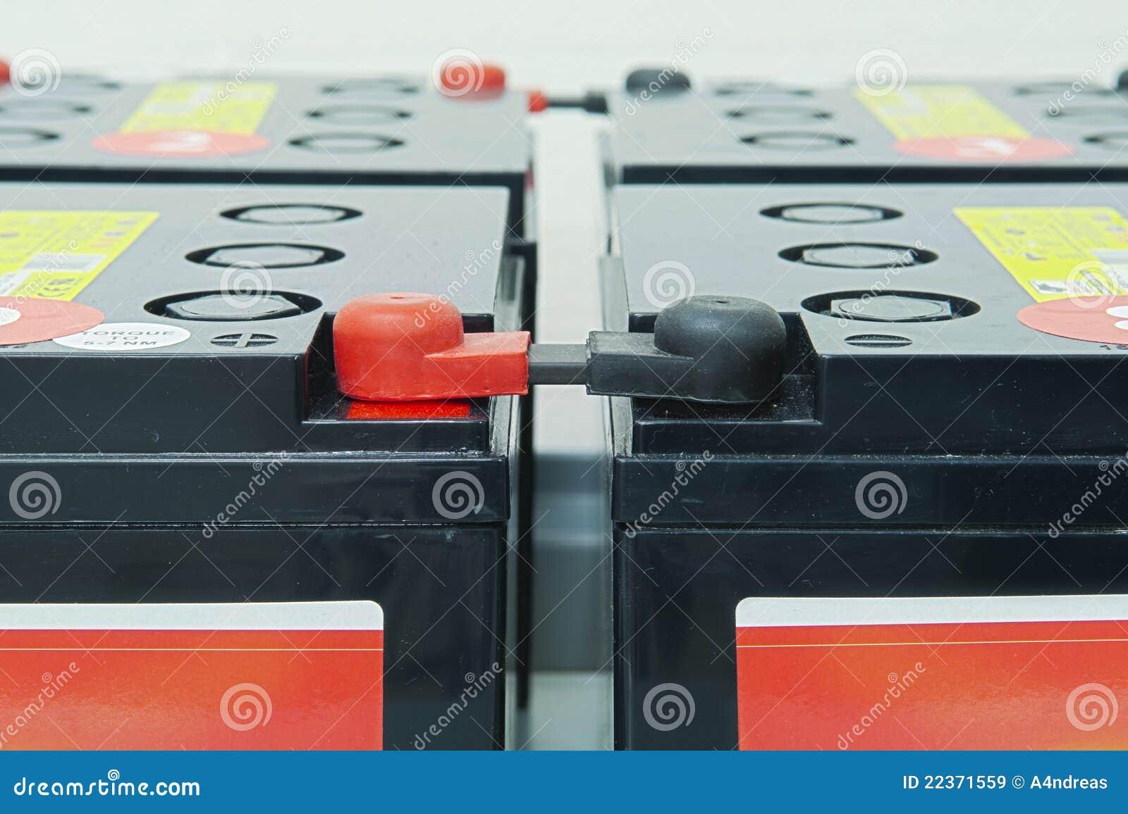 Emergency batteries for an uninterrupted power