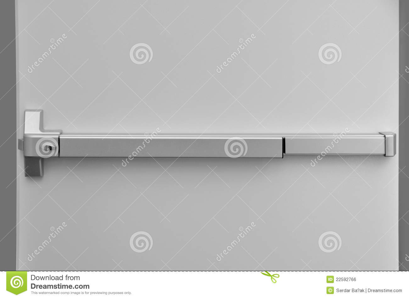 Emergency exit door stock photo. Image of city, help ...
