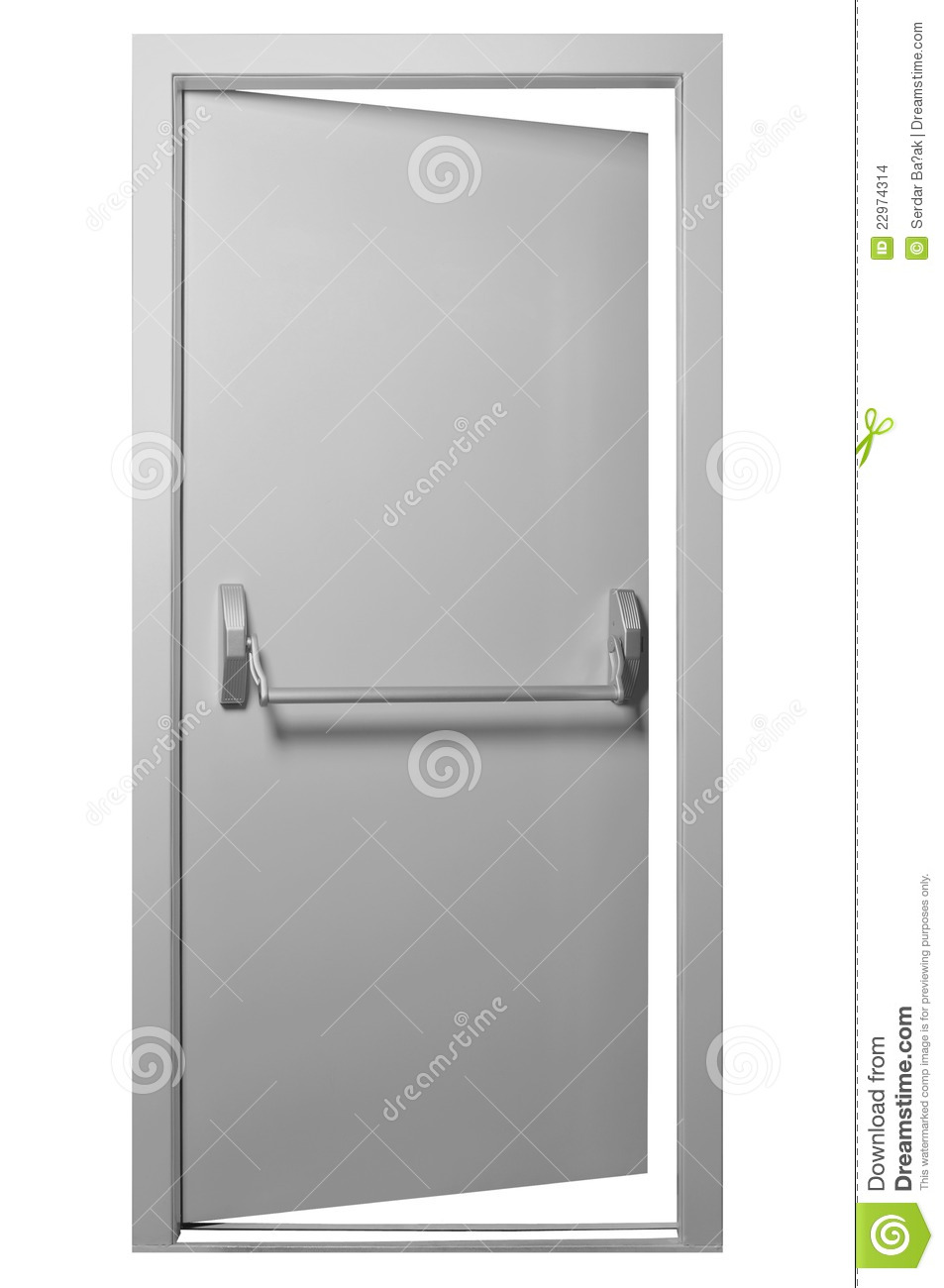 Emergency Exit Door Stock Images Image 22974314