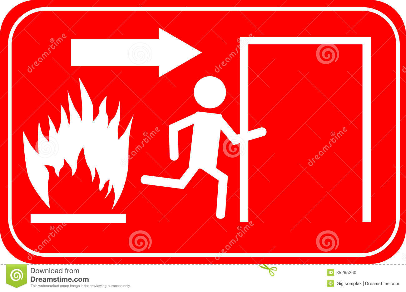 Fire Exit Signs Stock Photos, Images, & Pictures - 239 Images