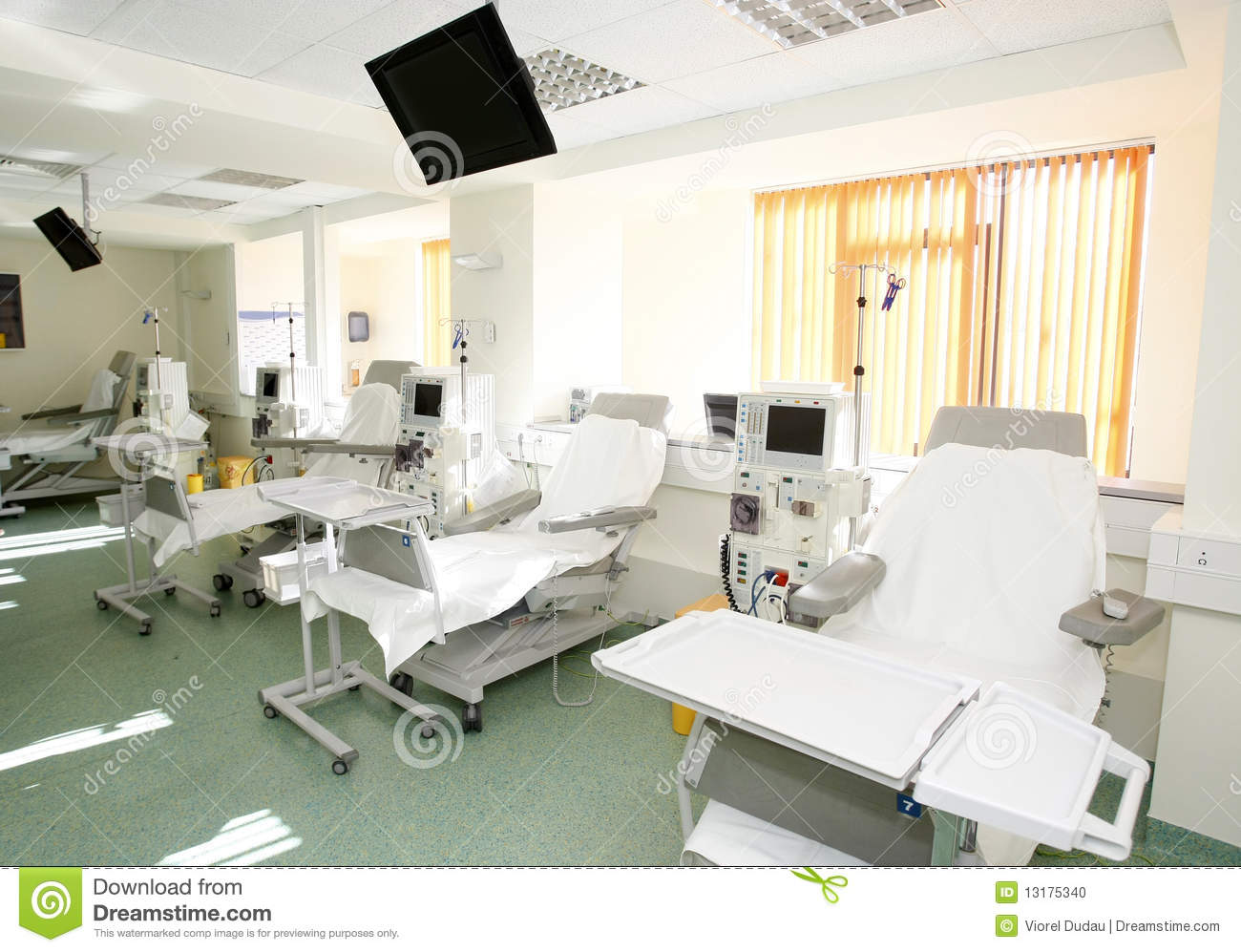 Emergency Room Intensive Care Stock Photo Image Of
