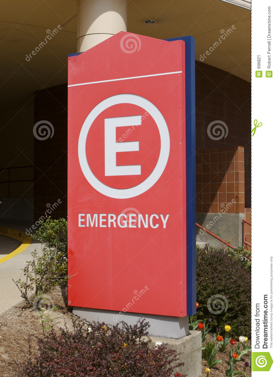 Emergency Room Sign Stock Image Of Responders