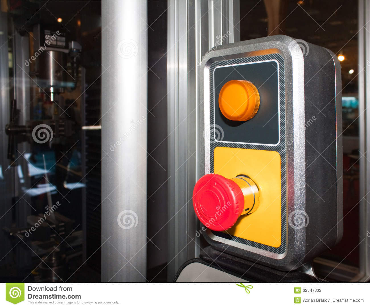 Emergency stop icon clipart emergency off - Emergency Stop Button Stock Photography