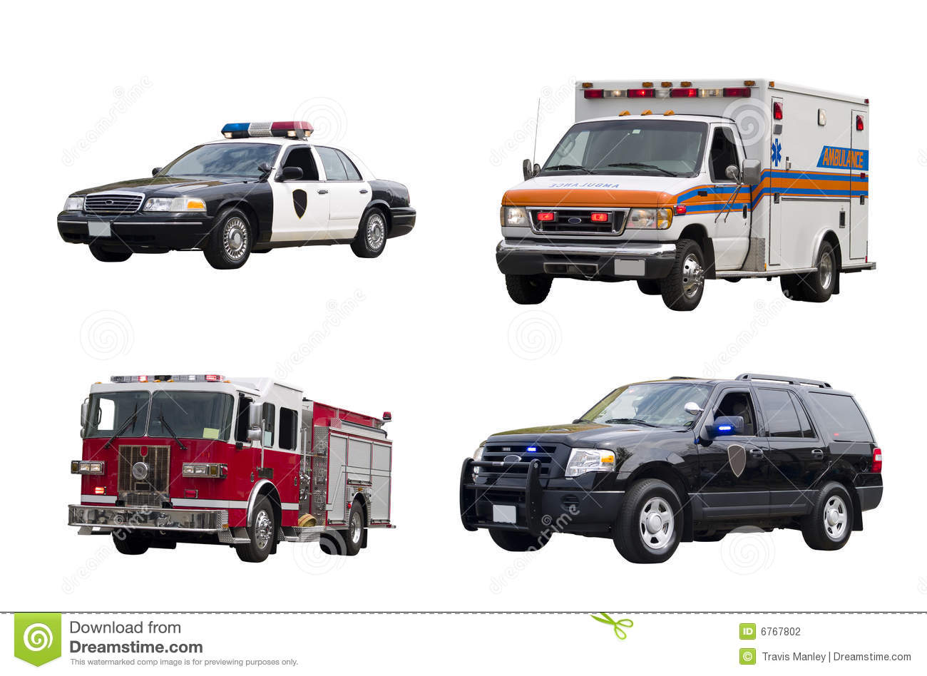emergency vehicles isolated stock photography image 6767802 pickup truck clipart black and white pickup truck clipart free
