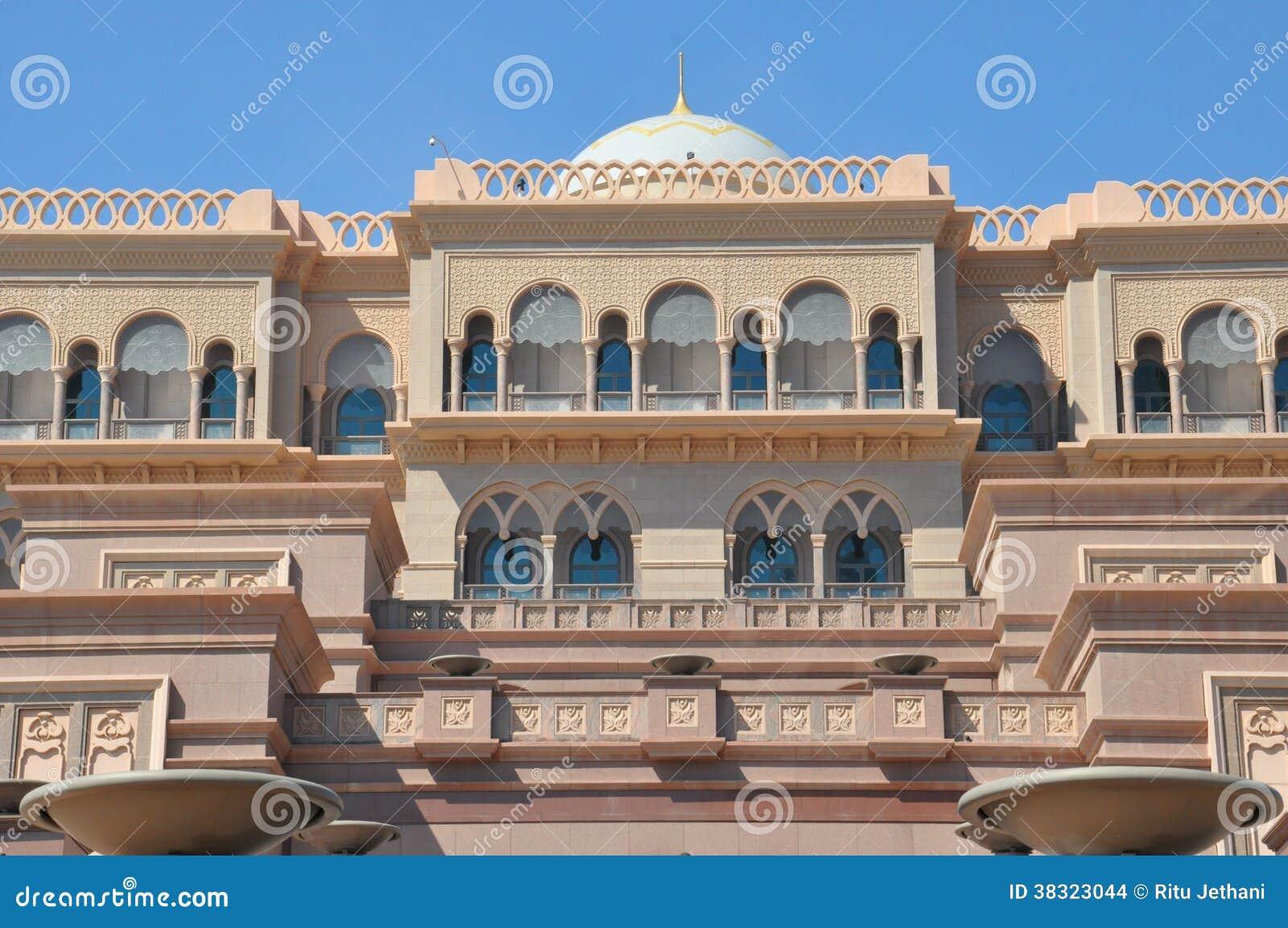 Emirat Palast Hotel In Abu Dhabi Uae Redaktionelles Stockbild