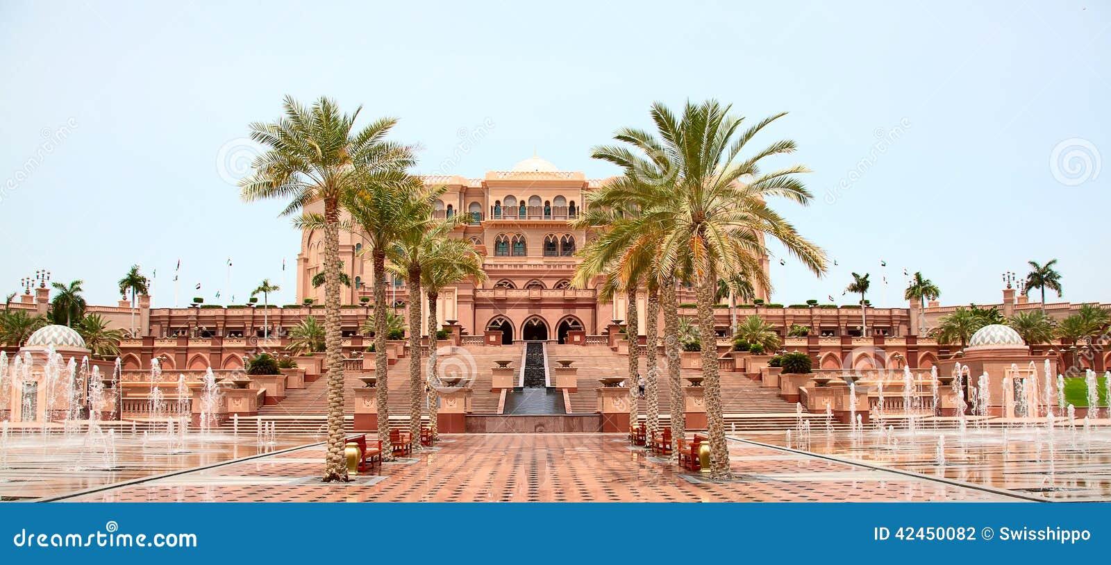 Emirat-Palast Nacht