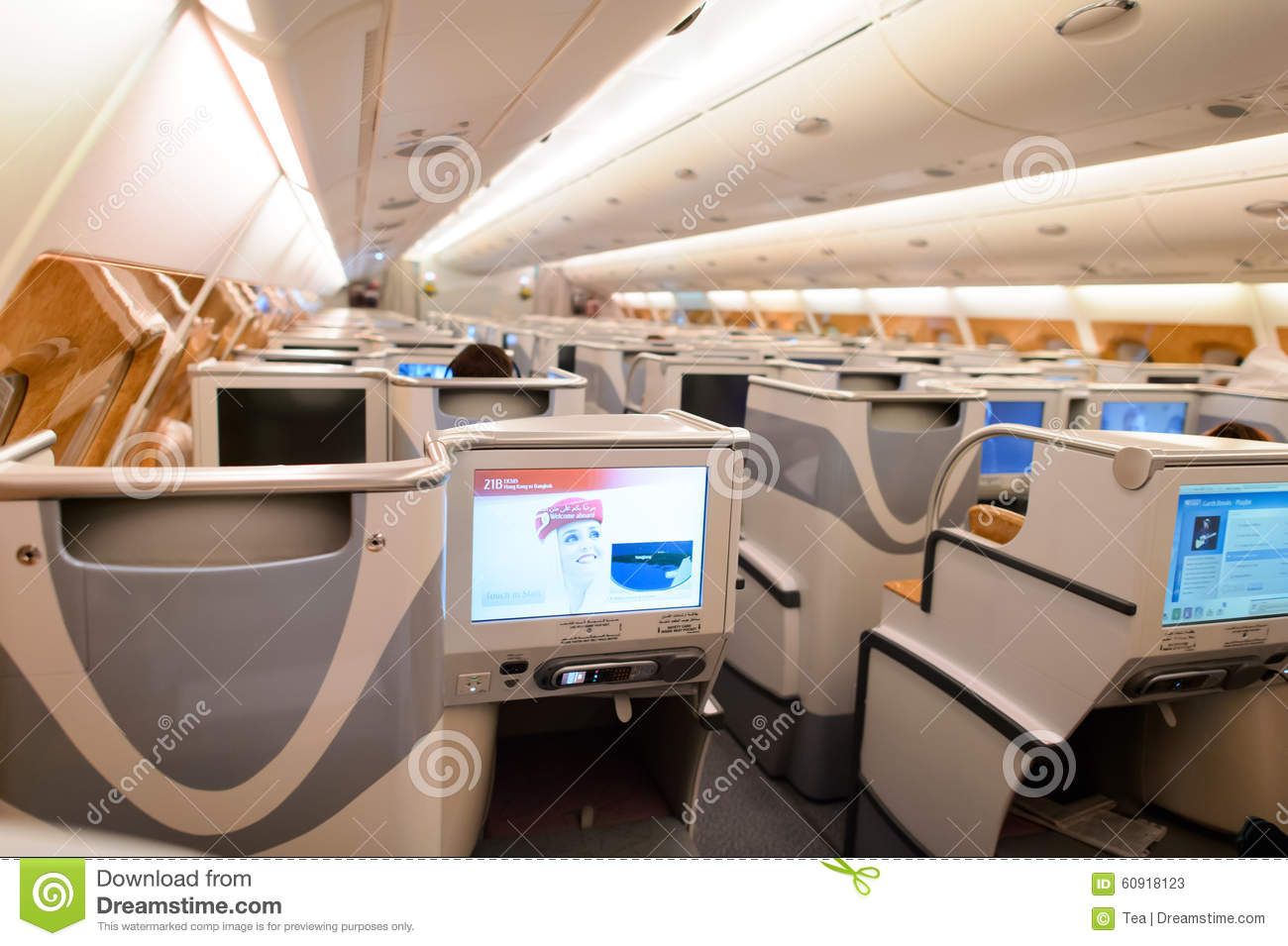 The main difference between business class Arab airlines from European 59