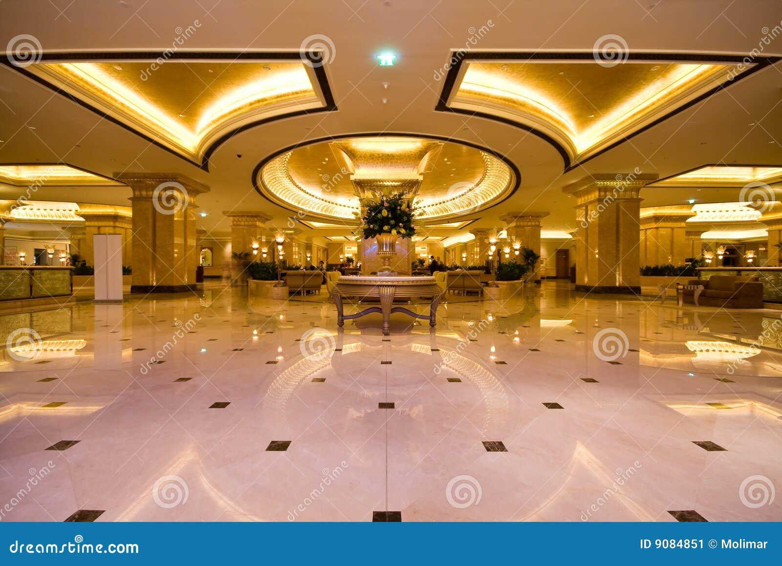 Emirates Palace Hotel Lobby Stock Image - Image: 9084851