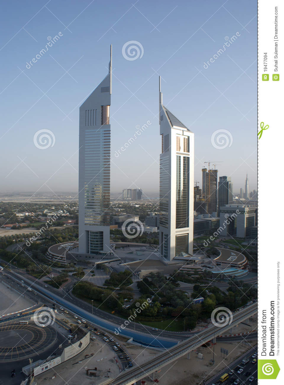 Emirates Towers In Dubai