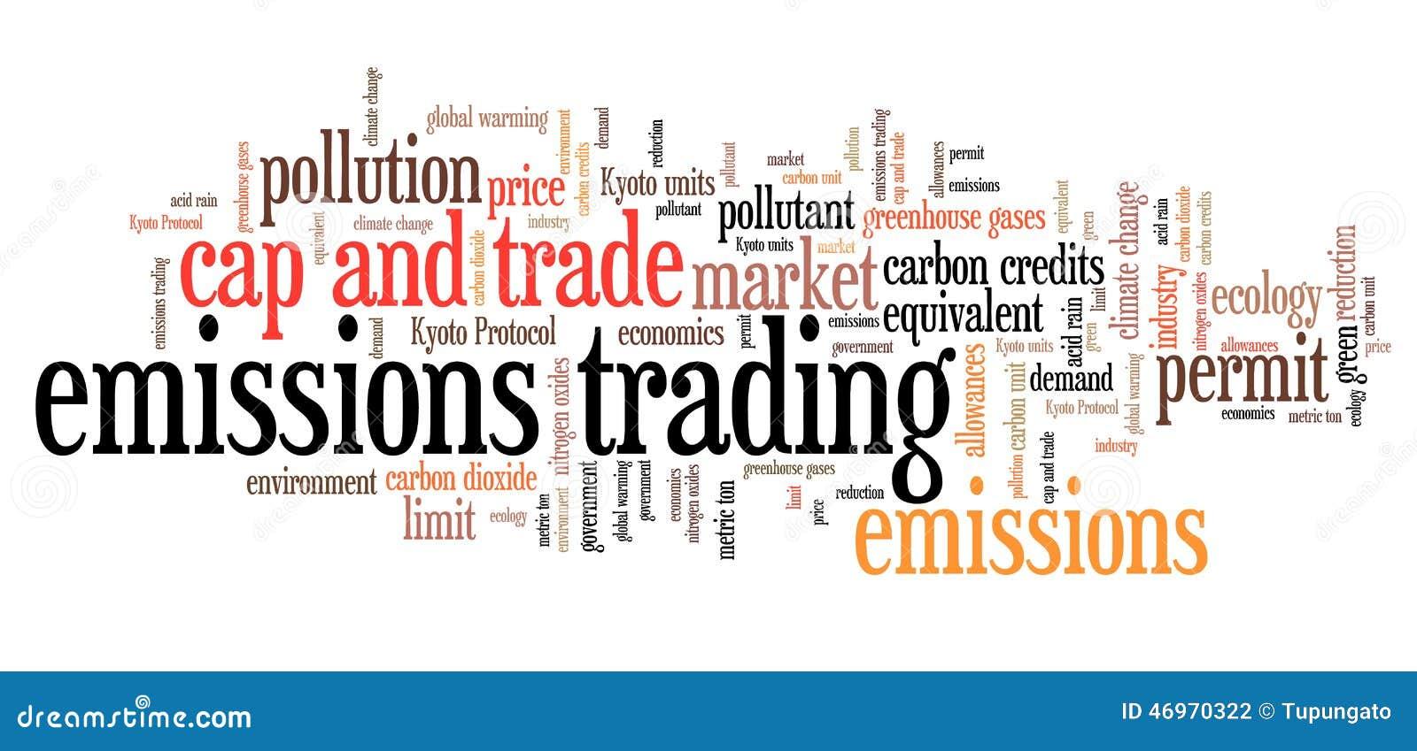 Carbon emission trading