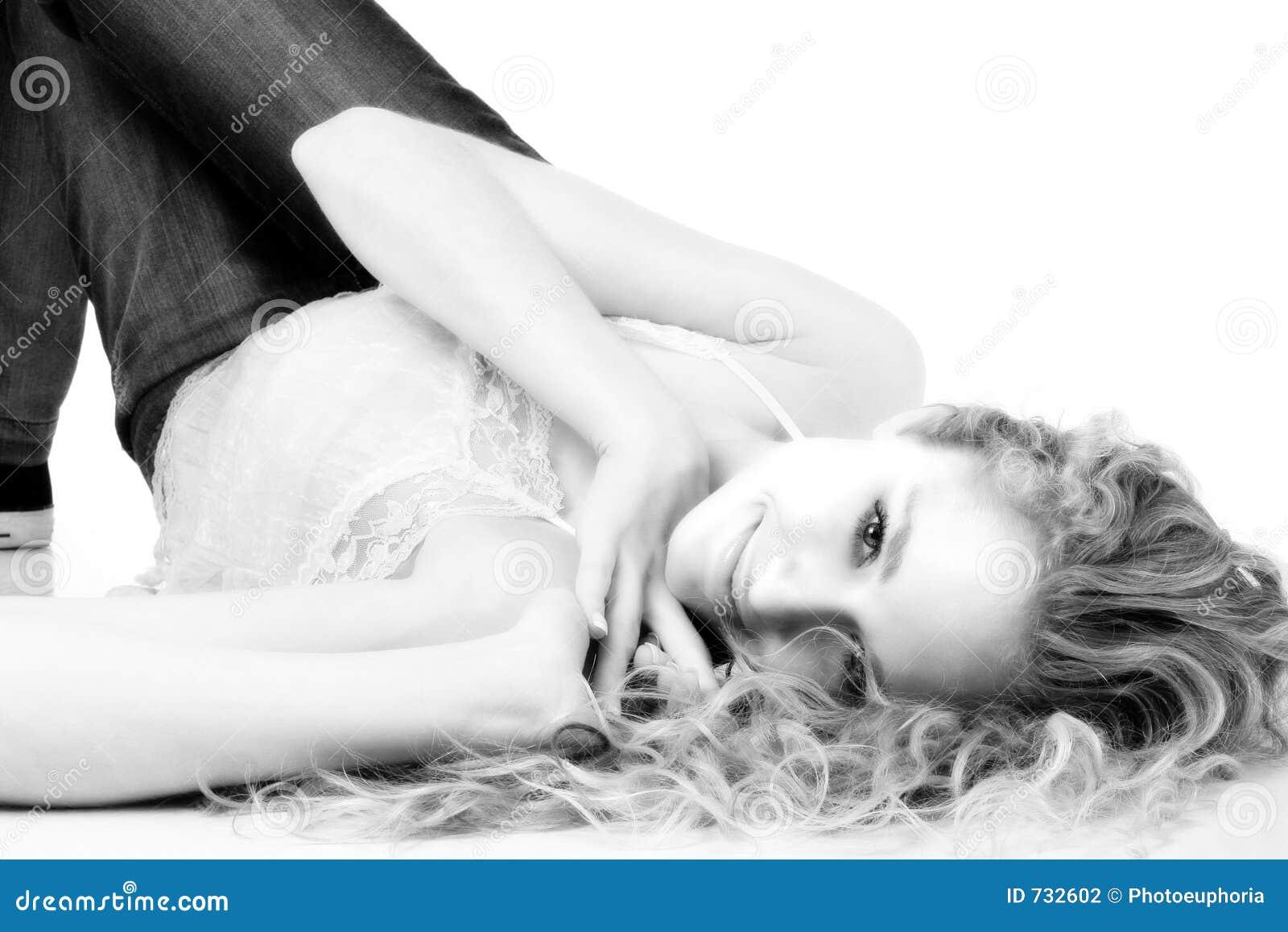 Emma en noir et blanc