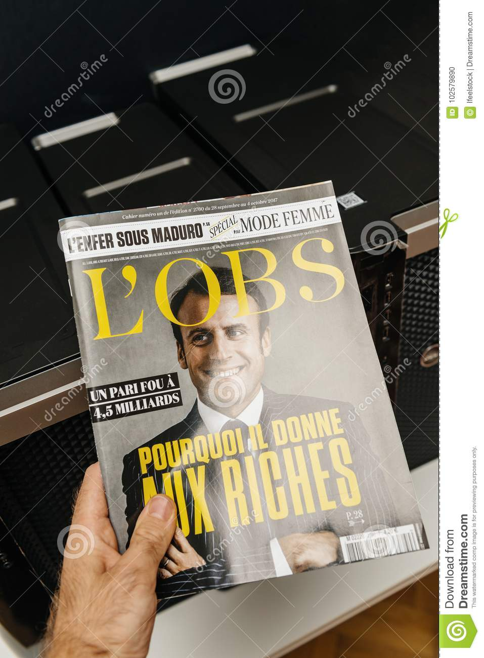 Emmanuel Macron and tilde Why he gives to the rich people