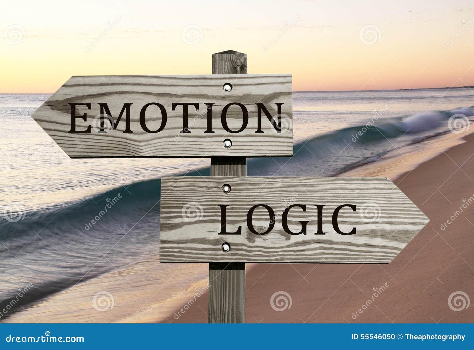 Emoção contra a lógica