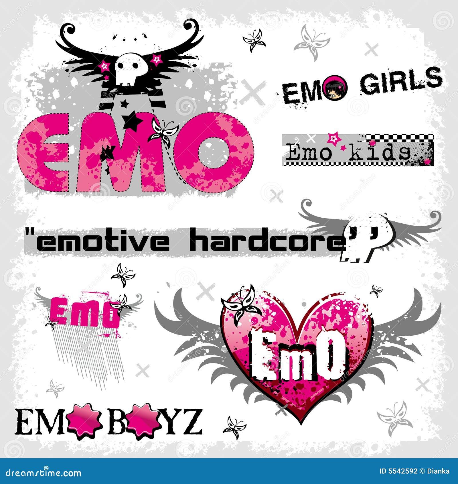Emo徽标