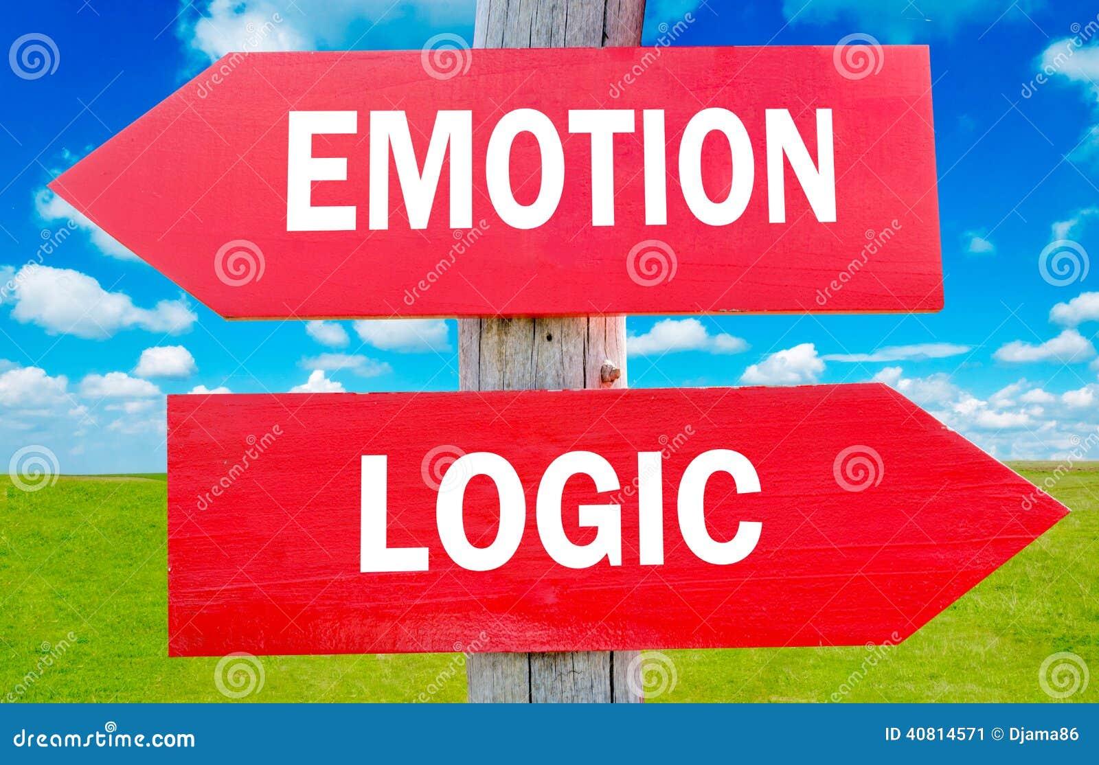 Emoción y lógica