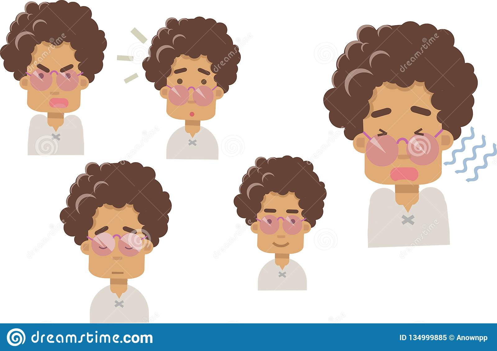 Emoji бабушки на белой предпосылке