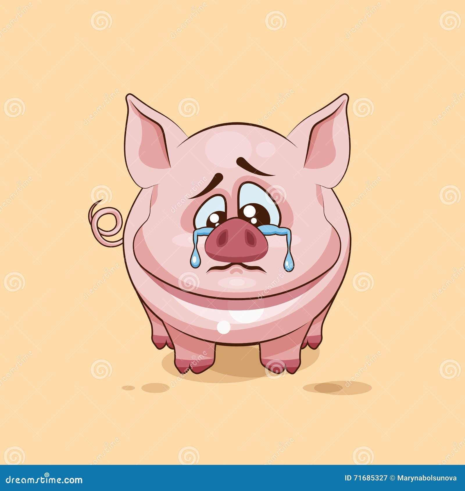 Cartoon Pig Crying - Bing images
