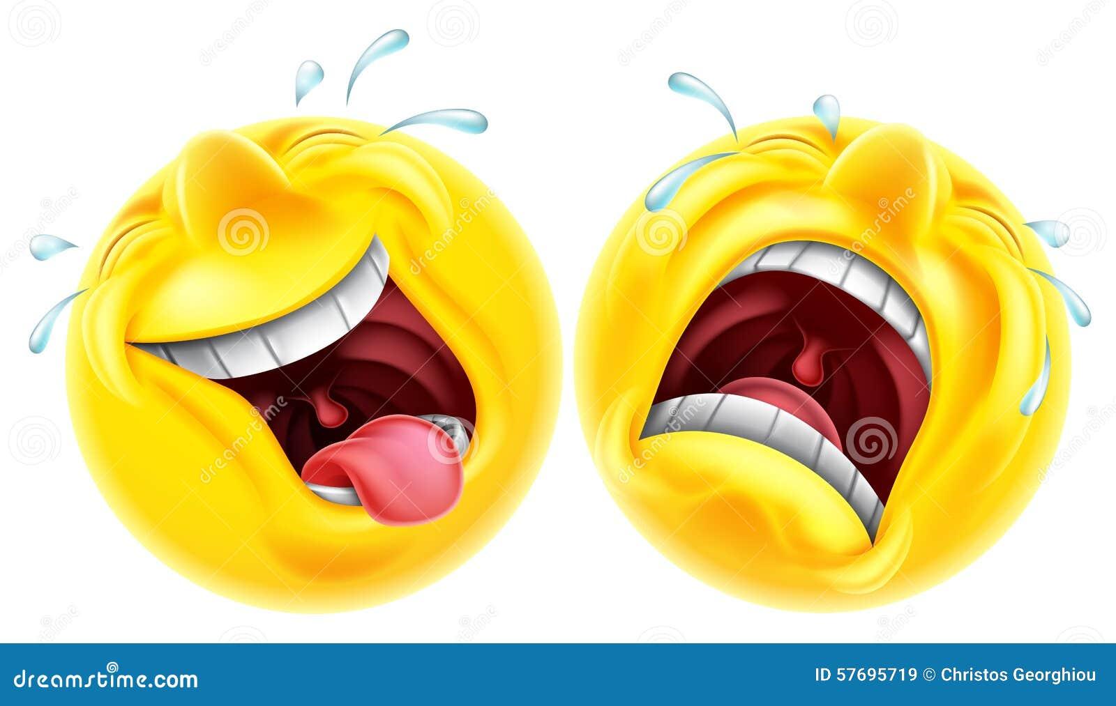 Emoji de la tragedia de la comedia del teatro
