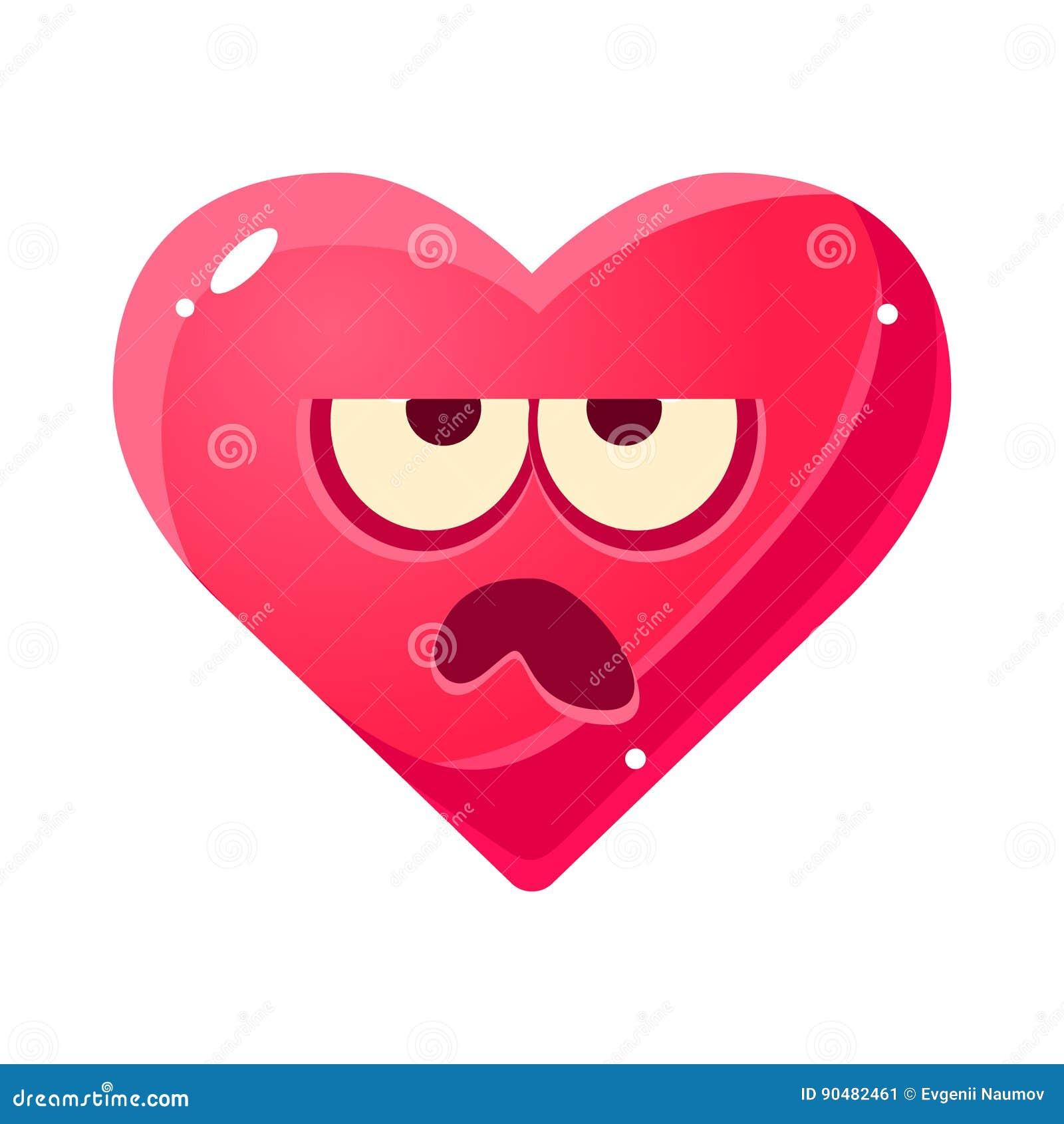Emoji Gruñón Icono Aislado Emocional De La Expresión Facial Del