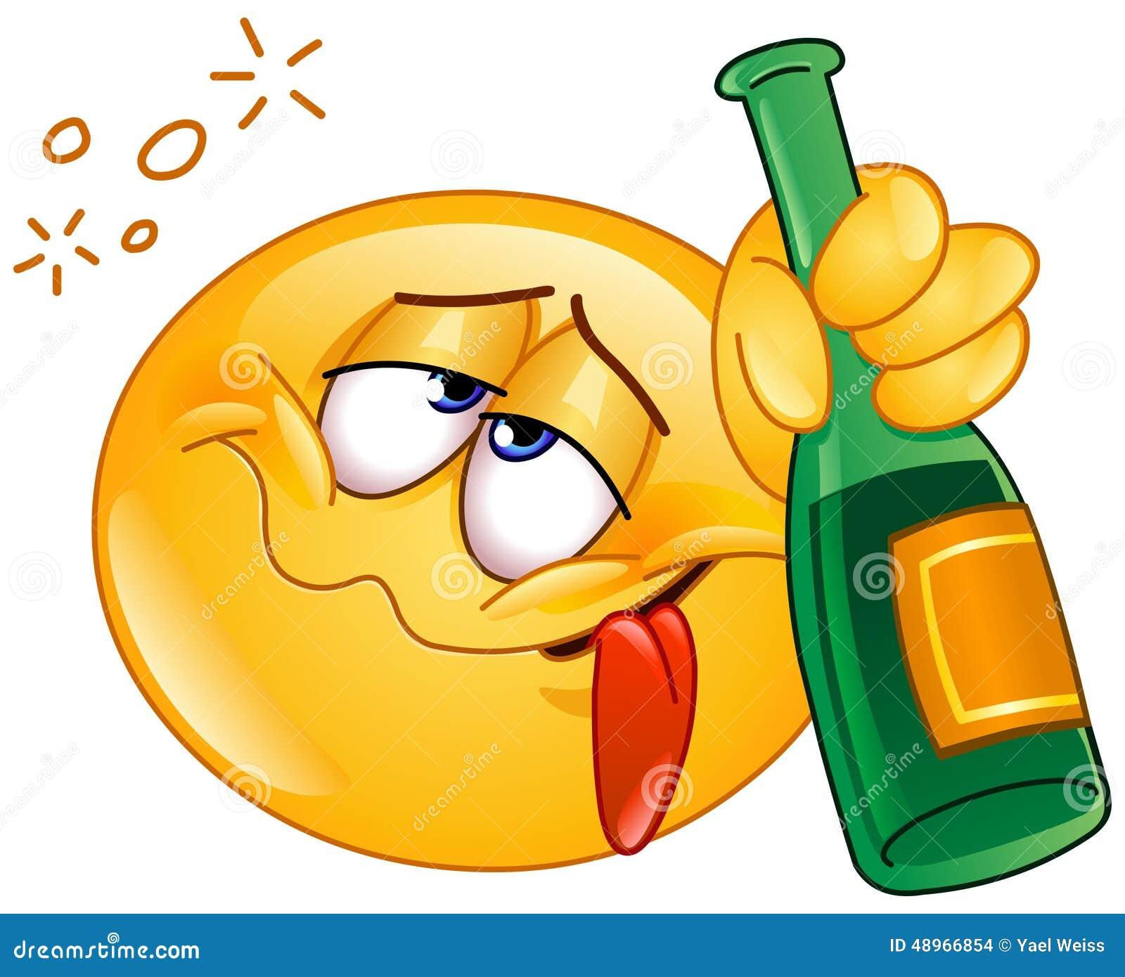 Emoticon borracho